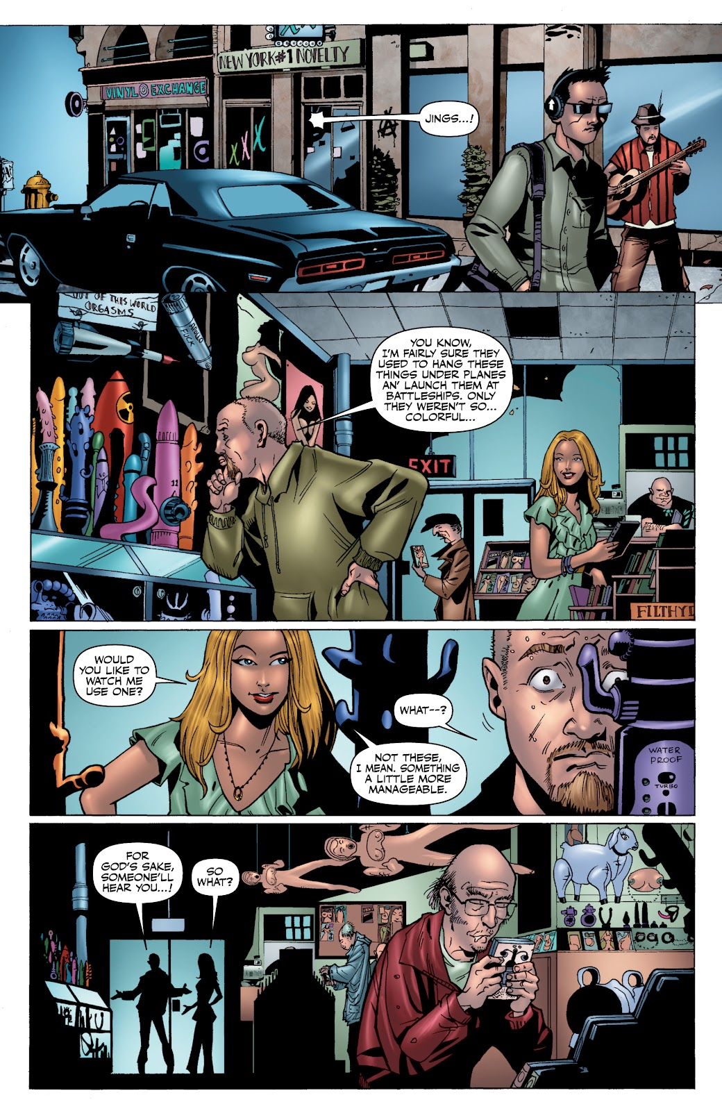 Read online The Boys Omnibus comic -  Issue # TPB 4 (Part 1) - 16