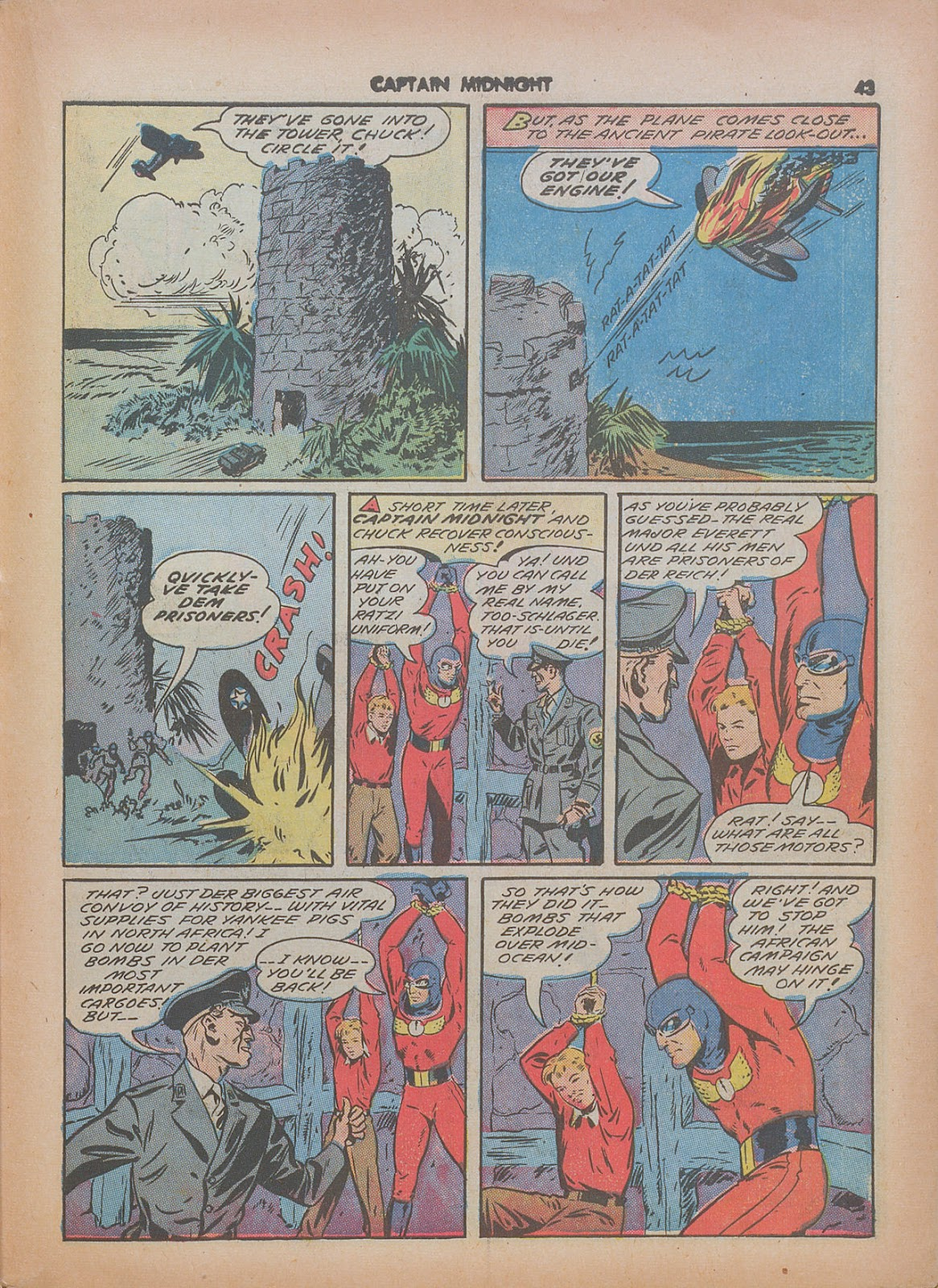 Captain Midnight (1942) issue 7 - Page 43