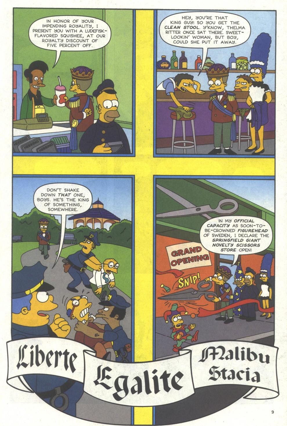 Read online Simpsons Comics comic -  Issue #56 - 10