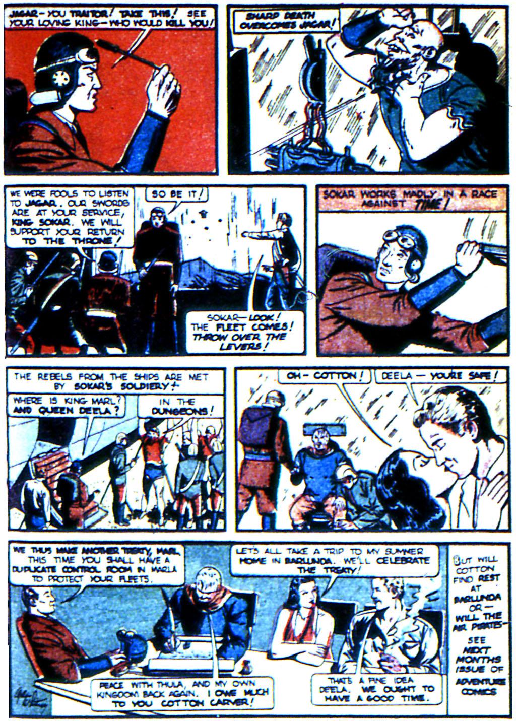 Read online Adventure Comics (1938) comic -  Issue #44 - 65