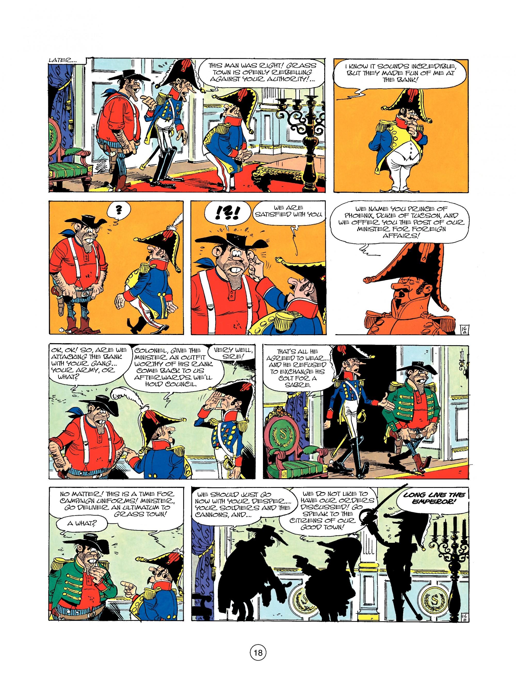 Read online A Lucky Luke Adventure comic -  Issue #22 - 18