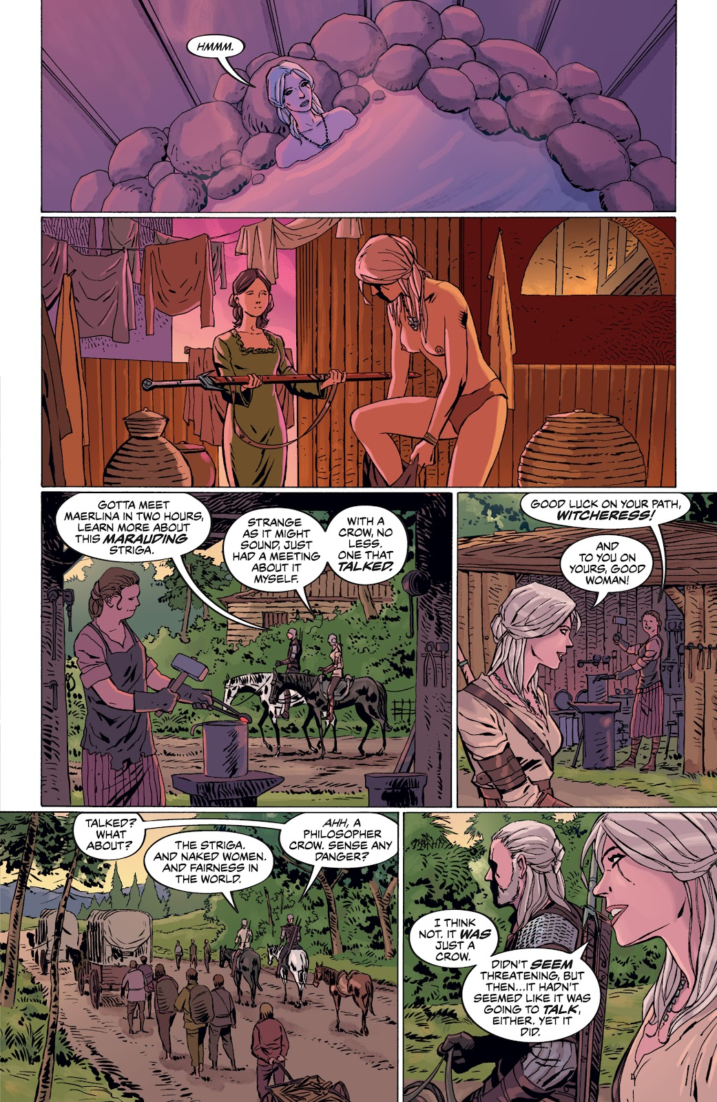 Read online The Witcher Omnibus comic -  Issue # TPB (Part 4) - 26