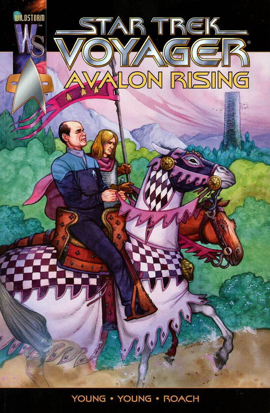Star Trek: Voyager--Avalon Rising issue Full - Page 1