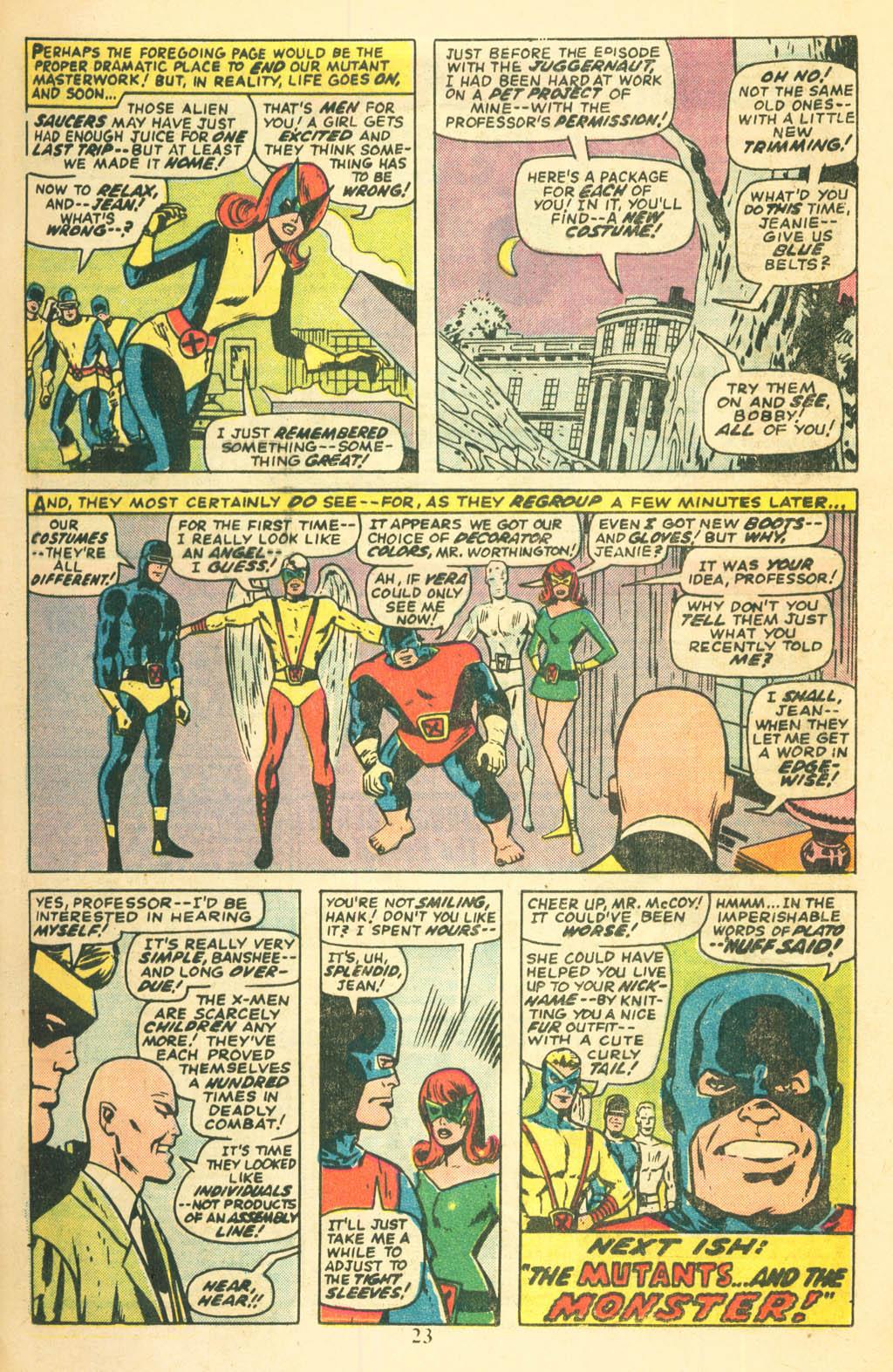 Read online Uncanny X-Men (1963) comic -  Issue #87 - 25