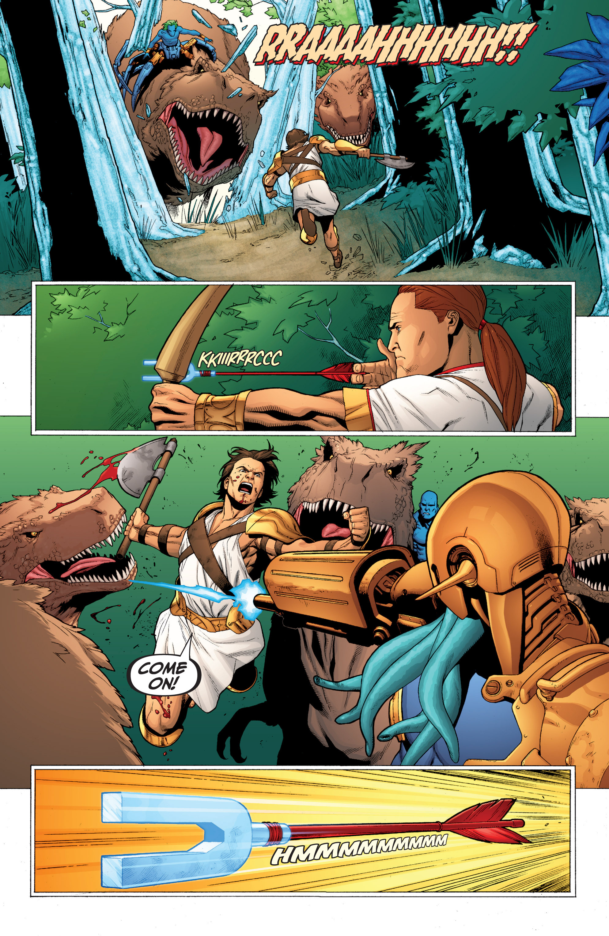 Read online Archer and Armstrong comic -  Issue #0 - 18