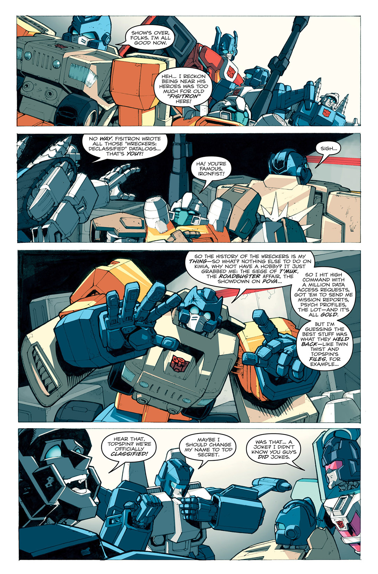 Read online Transformers: Last Stand of The Wreckers comic -  Issue #1 - 20
