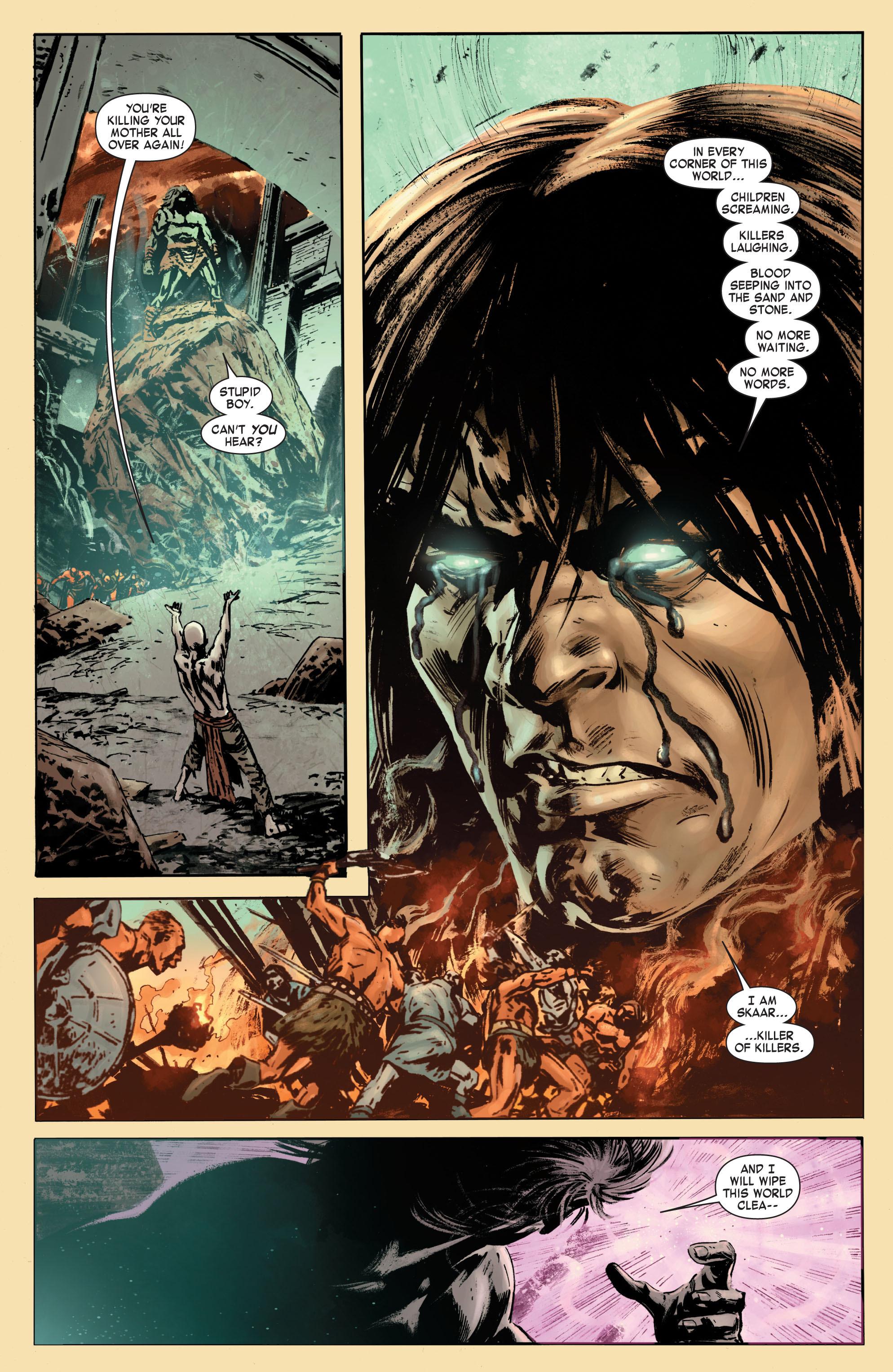 Read online Skaar: Son of Hulk comic -  Issue #7 - 13