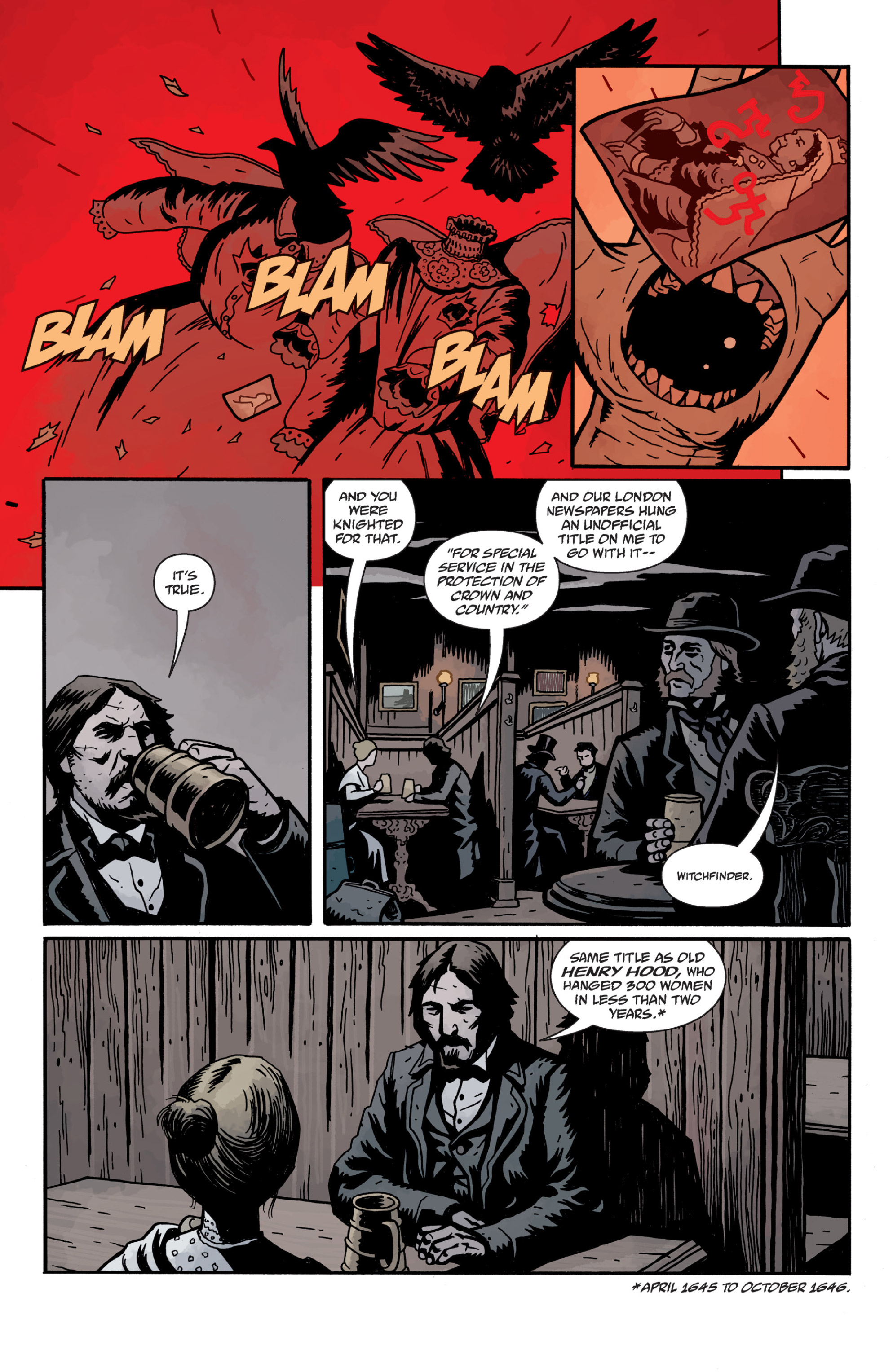 Read online Sir Edward Grey, Witchfinder: In the Service of Angels comic -  Issue # TPB - 93