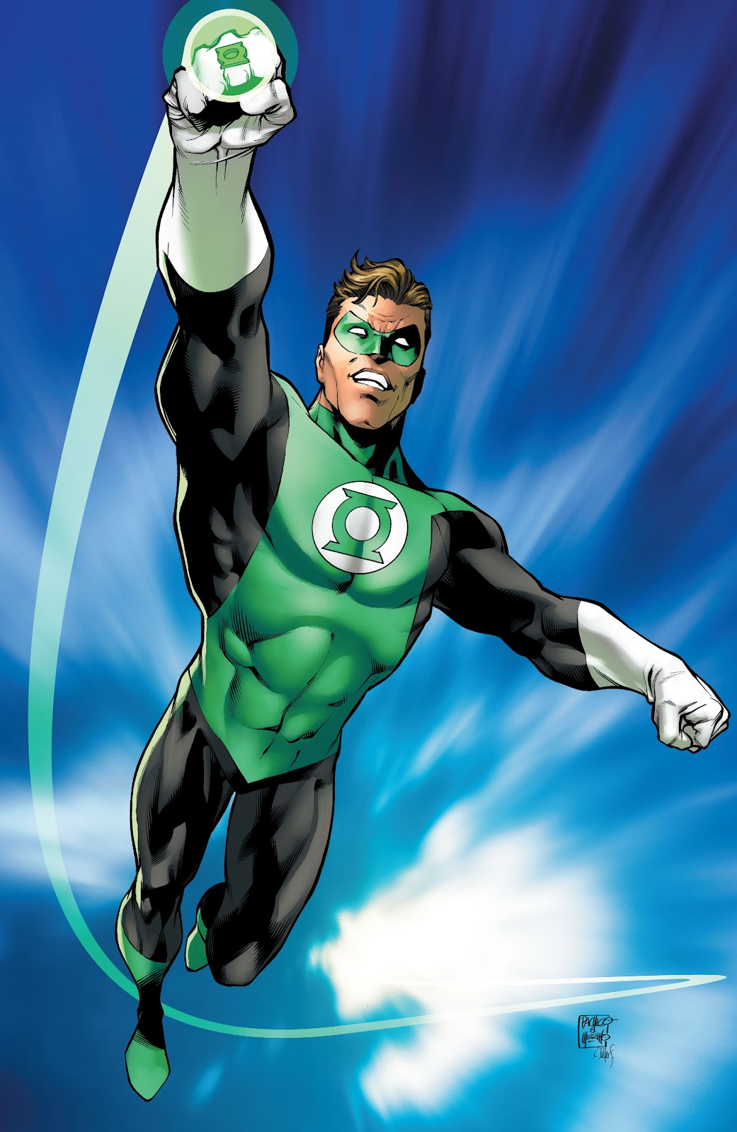 Read online Green Lantern by Geoff Johns comic -  Issue # TPB 1 (Part 4) - 23