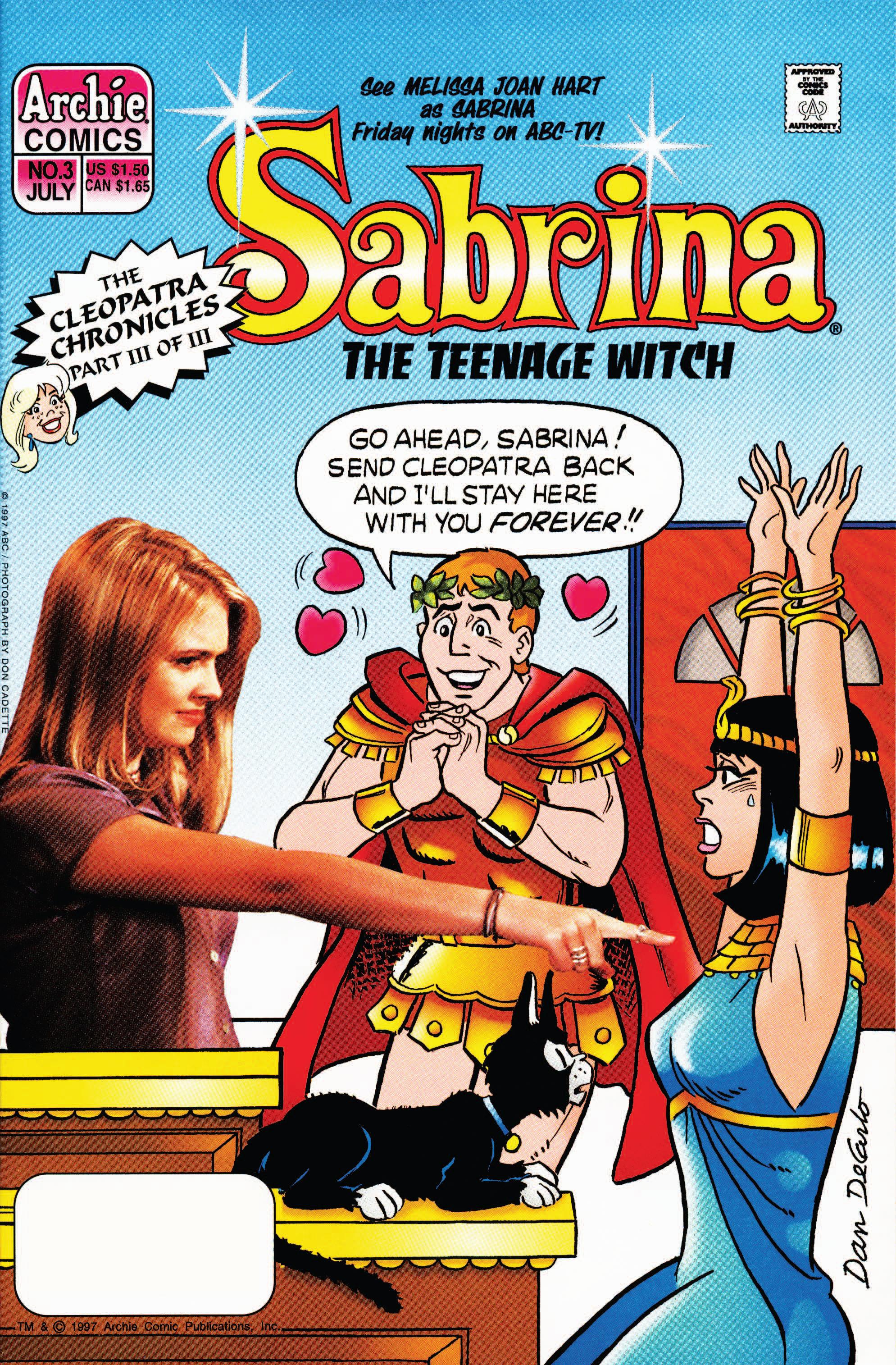 Sabrina the Teenage Witch (1997) 3 Page 1