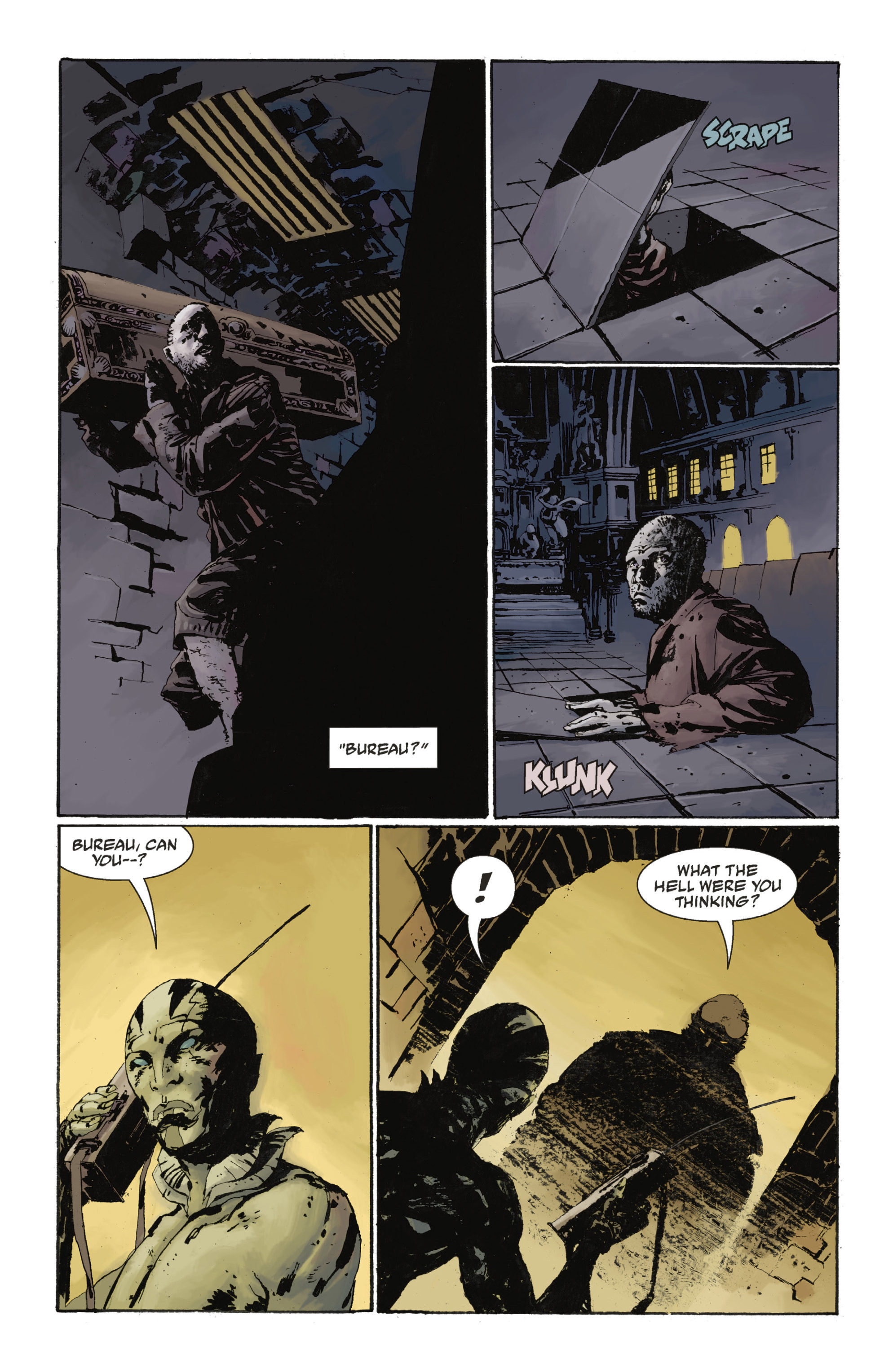 Read online Abe Sapien: The Drowning comic -  Issue #Abe Sapien: The Drowning _TPB - 51