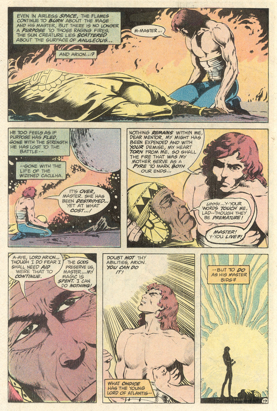 Read online Arion, Lord of Atlantis comic -  Issue #1 - 19