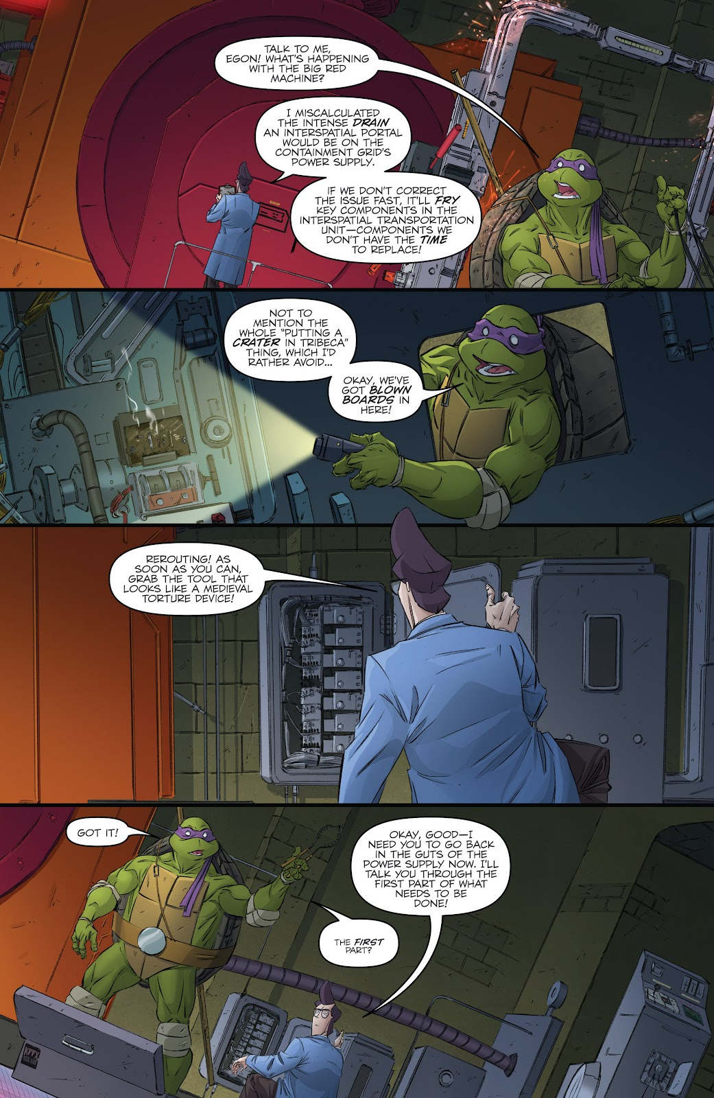Read online Teenage Mutant Ninja Turtles: The IDW Collection comic -  Issue # TPB 5 (Part 3) - 53
