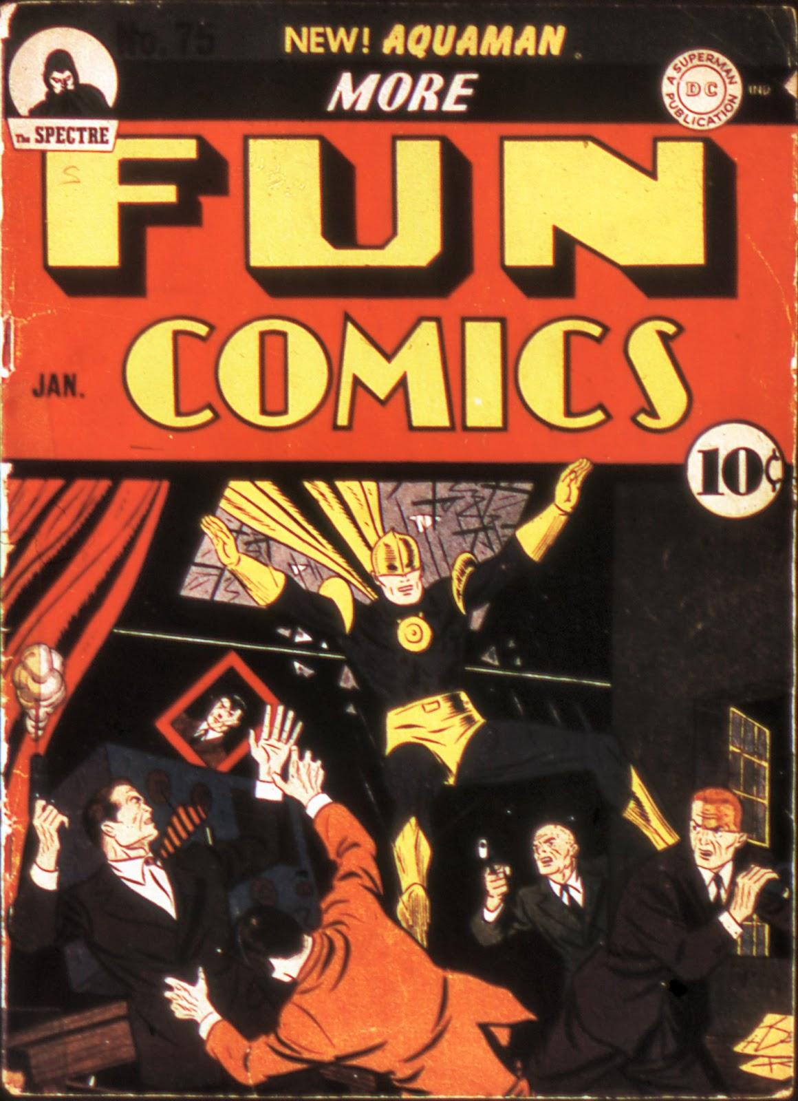 More Fun Comics 75 Page 1