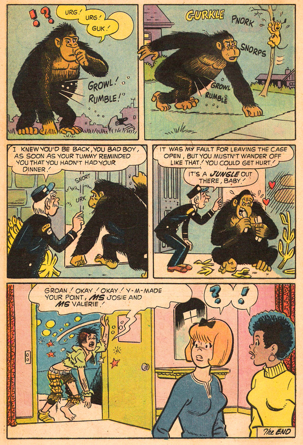 Read online She's Josie comic -  Issue #82 - 8