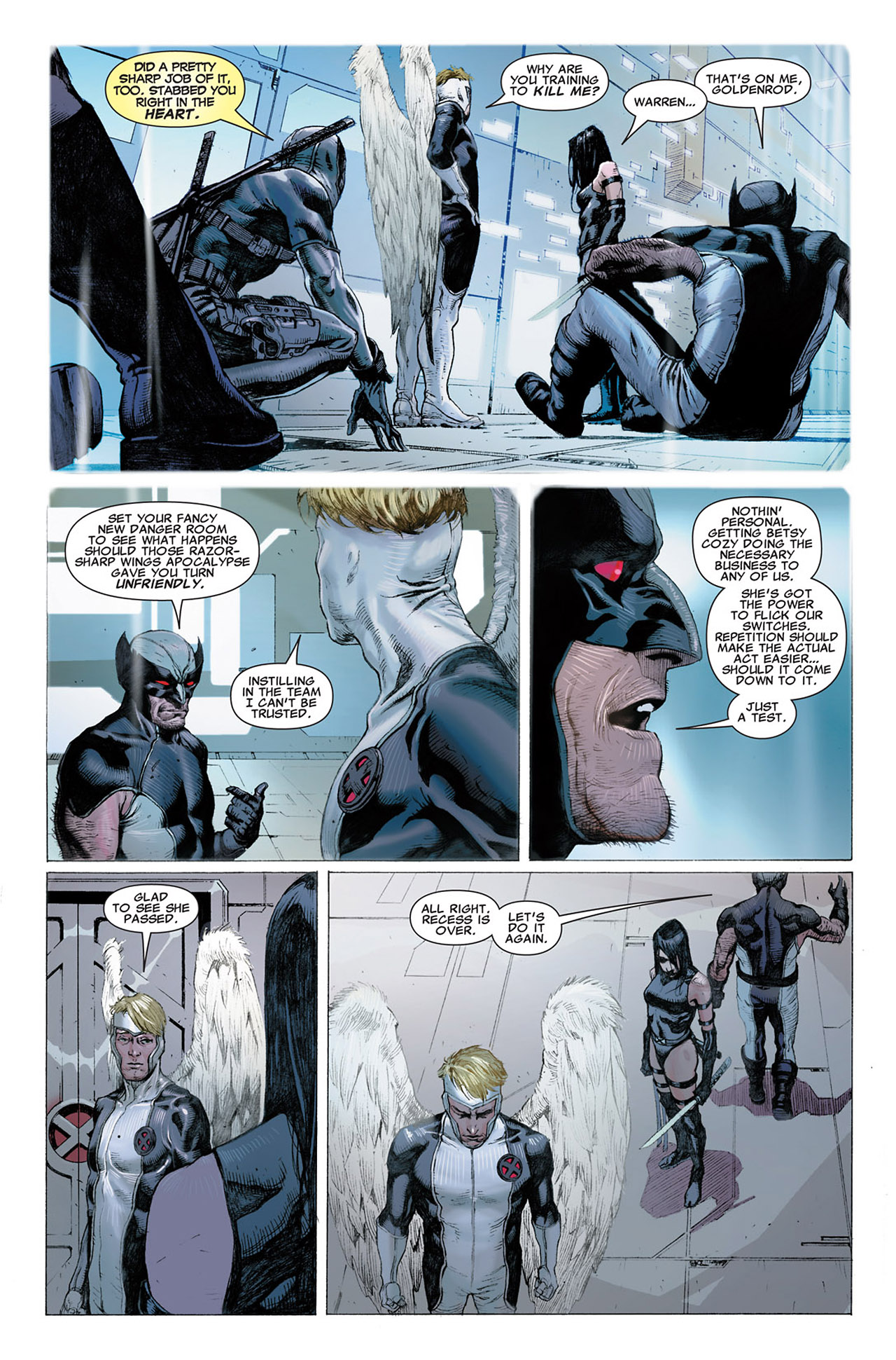 Read online Uncanny X-Force (2010) comic -  Issue #2 - 7