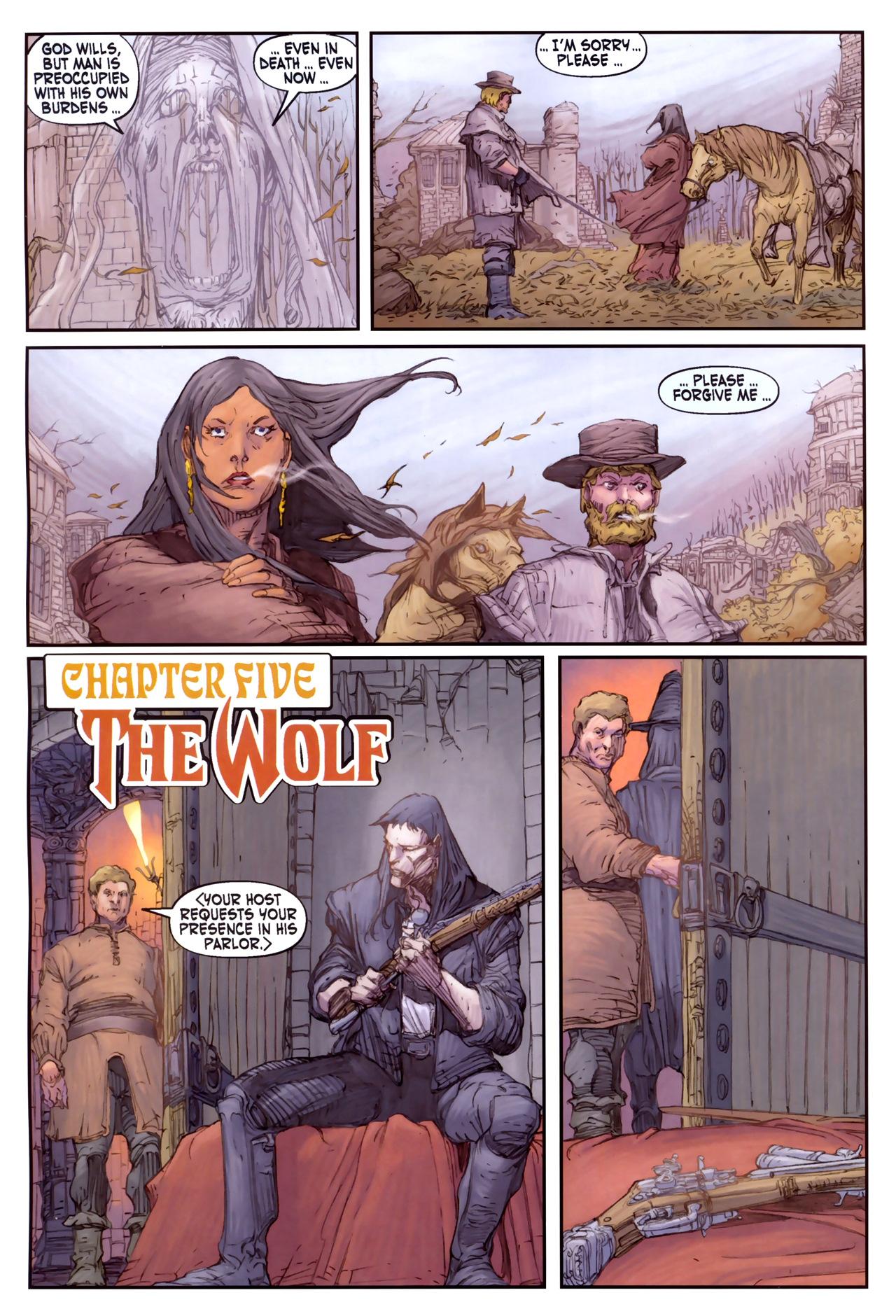 Read online Solomon Kane comic -  Issue #3 - 20