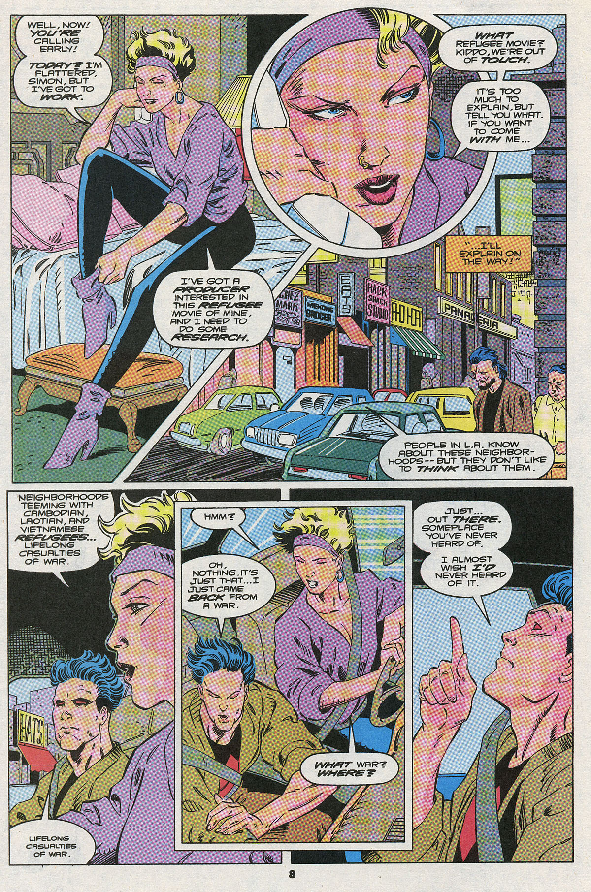 Read online Wonder Man (1991) comic -  Issue #10 - 7
