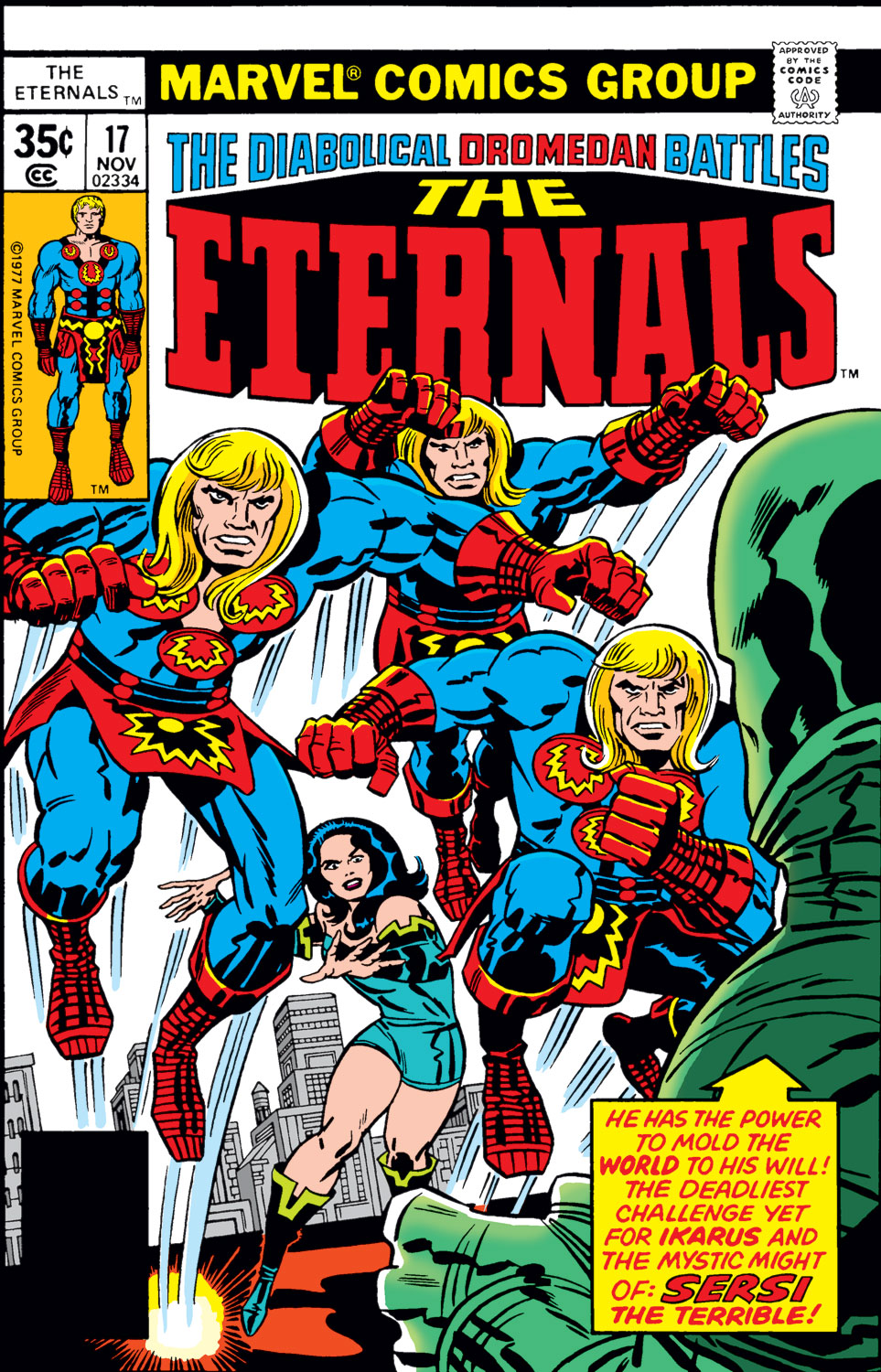 The Eternals issue 17 - Page 1