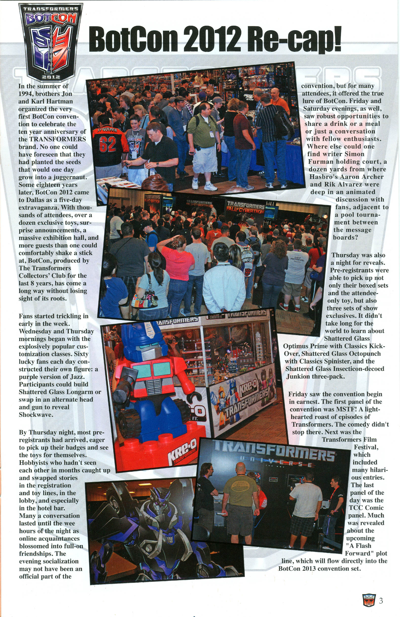 Read online Transformers: Collectors' Club comic -  Issue #45 - 3