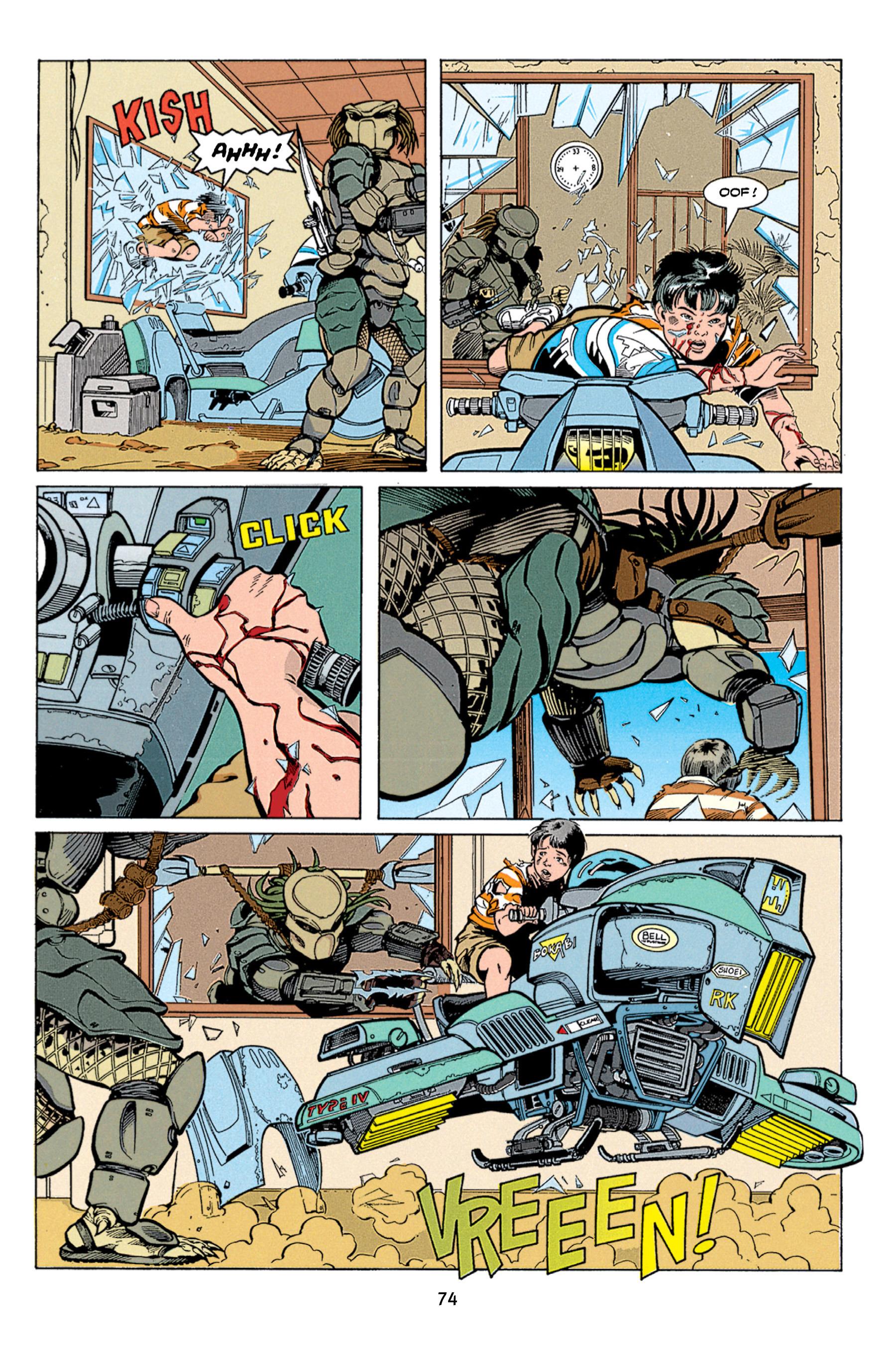 Read online Aliens vs. Predator Omnibus comic -  Issue # _TPB 1 Part 1 - 74