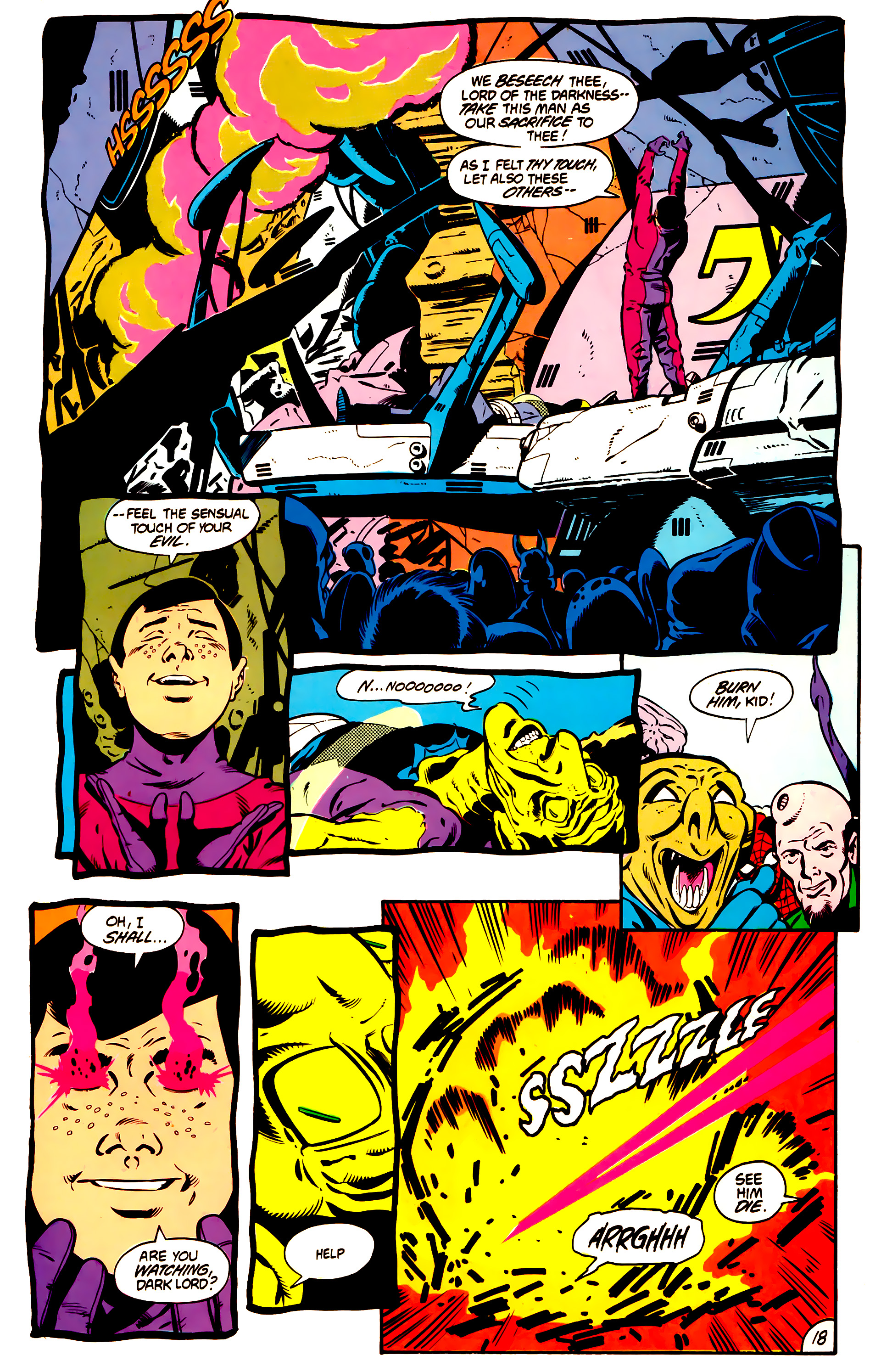 Legion of Super-Heroes (1984) 1 Page 19