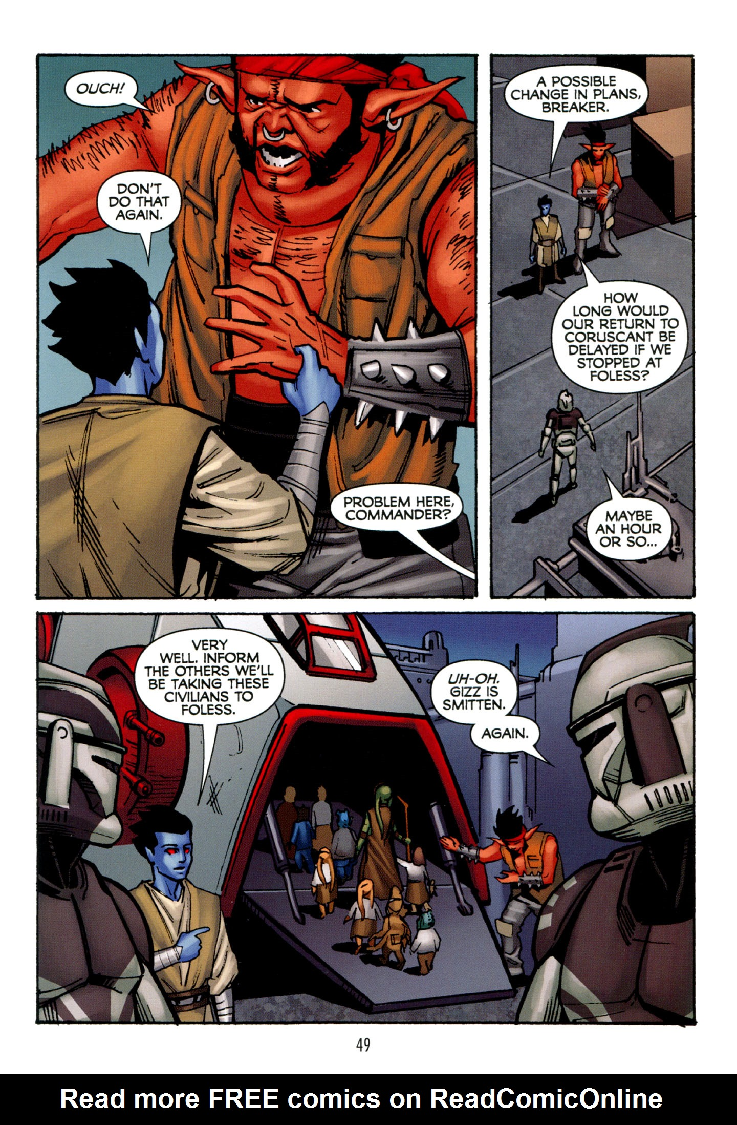 Read online Star Wars: The Clone Wars - Strange Allies comic -  Issue # Full - 50