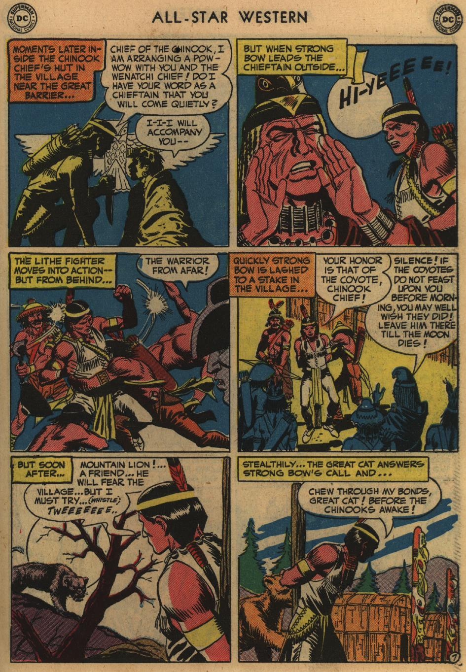 Read online All-Star Western (1951) comic -  Issue #60 - 45