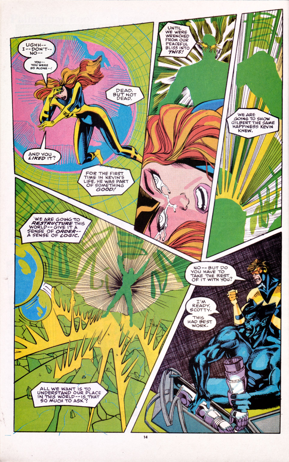 Read online X-Factor (1986) comic -  Issue # _ Annual 6 - 12