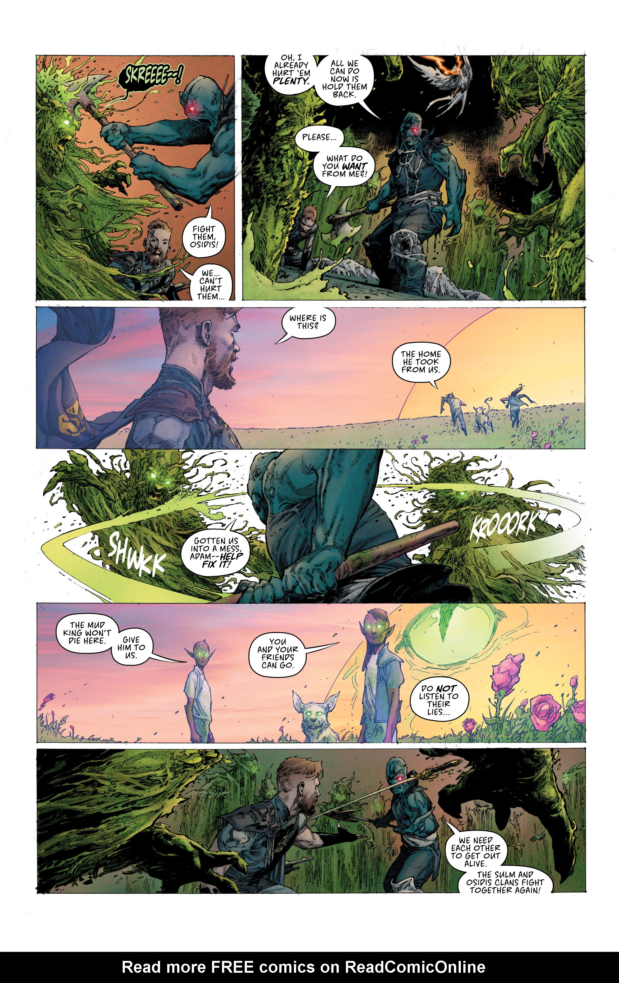 Read online Seven To Eternity comic -  Issue #6 - 13