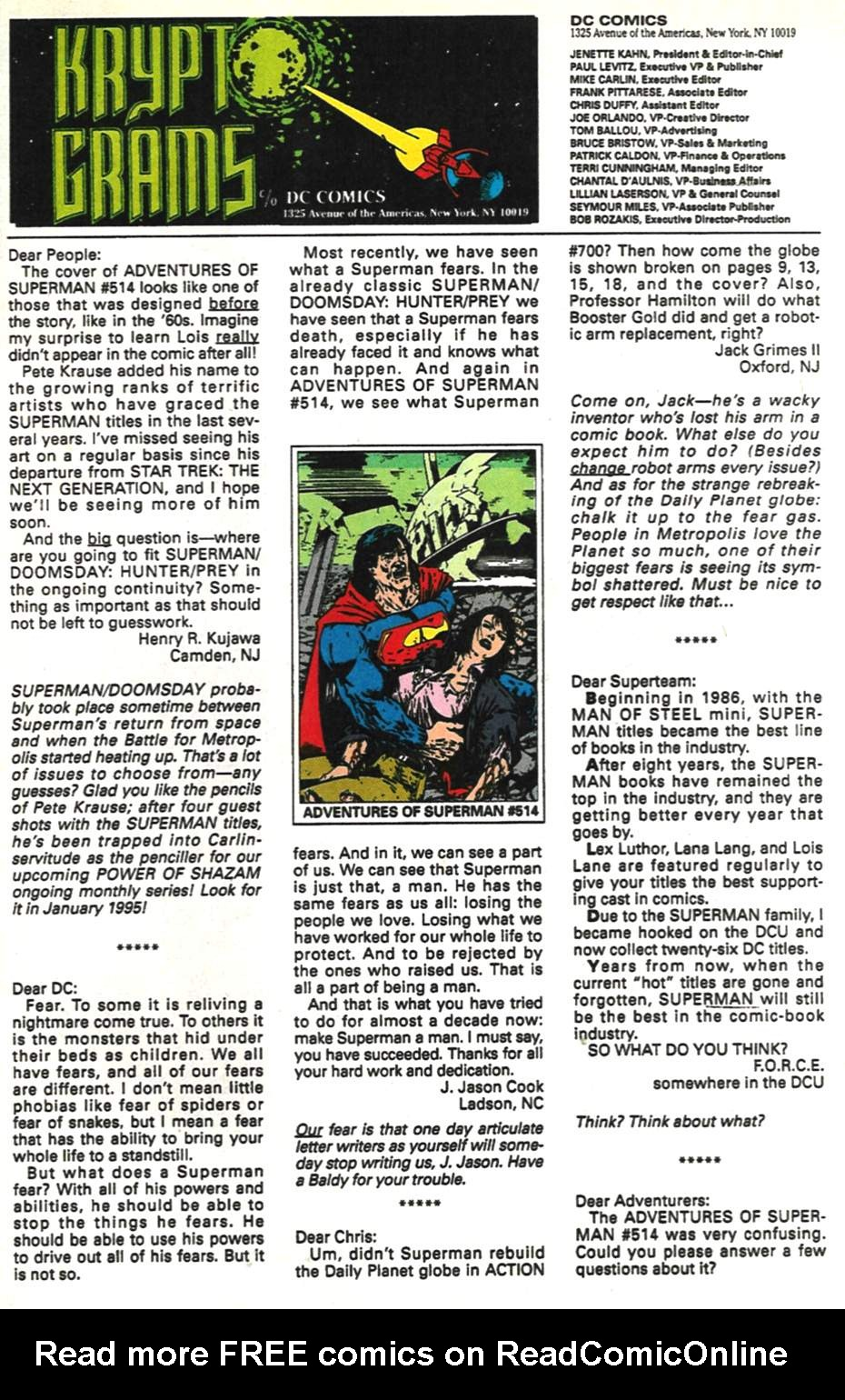 Read online Adventures of Superman (1987) comic -  Issue #517 - 24