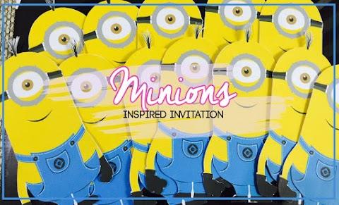 Invitation : Minion Inspired