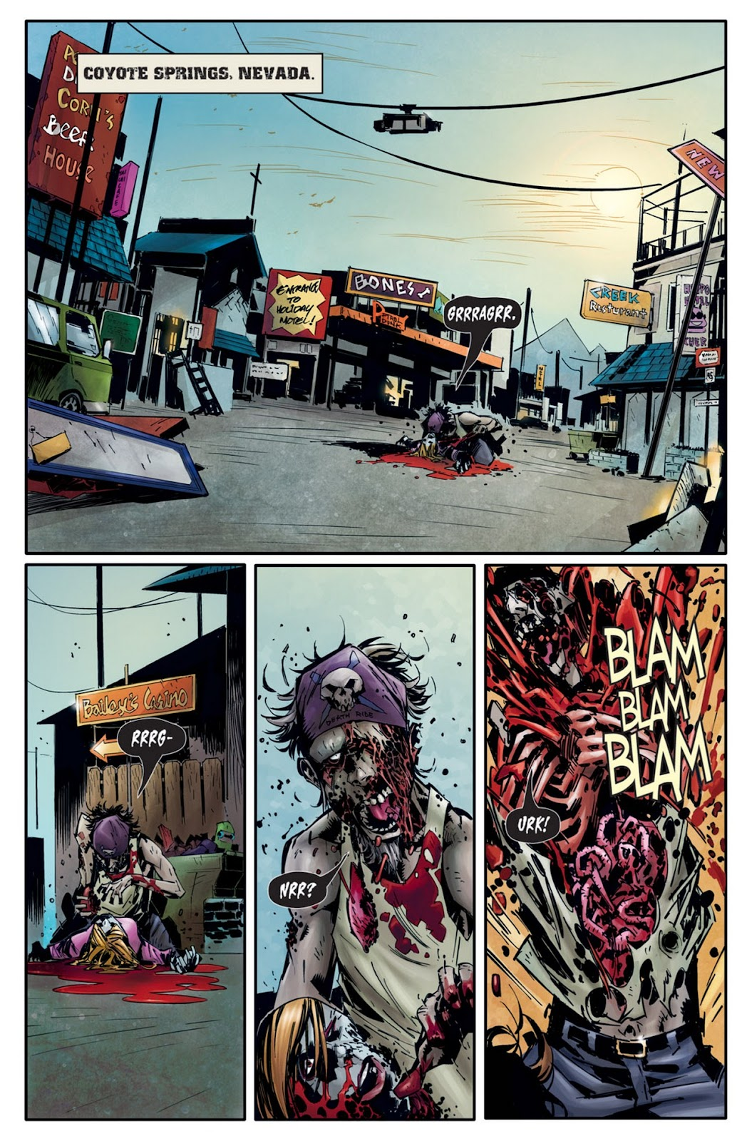 Read online Dead Rising: Road to Fortune comic -  Issue #2 - 4