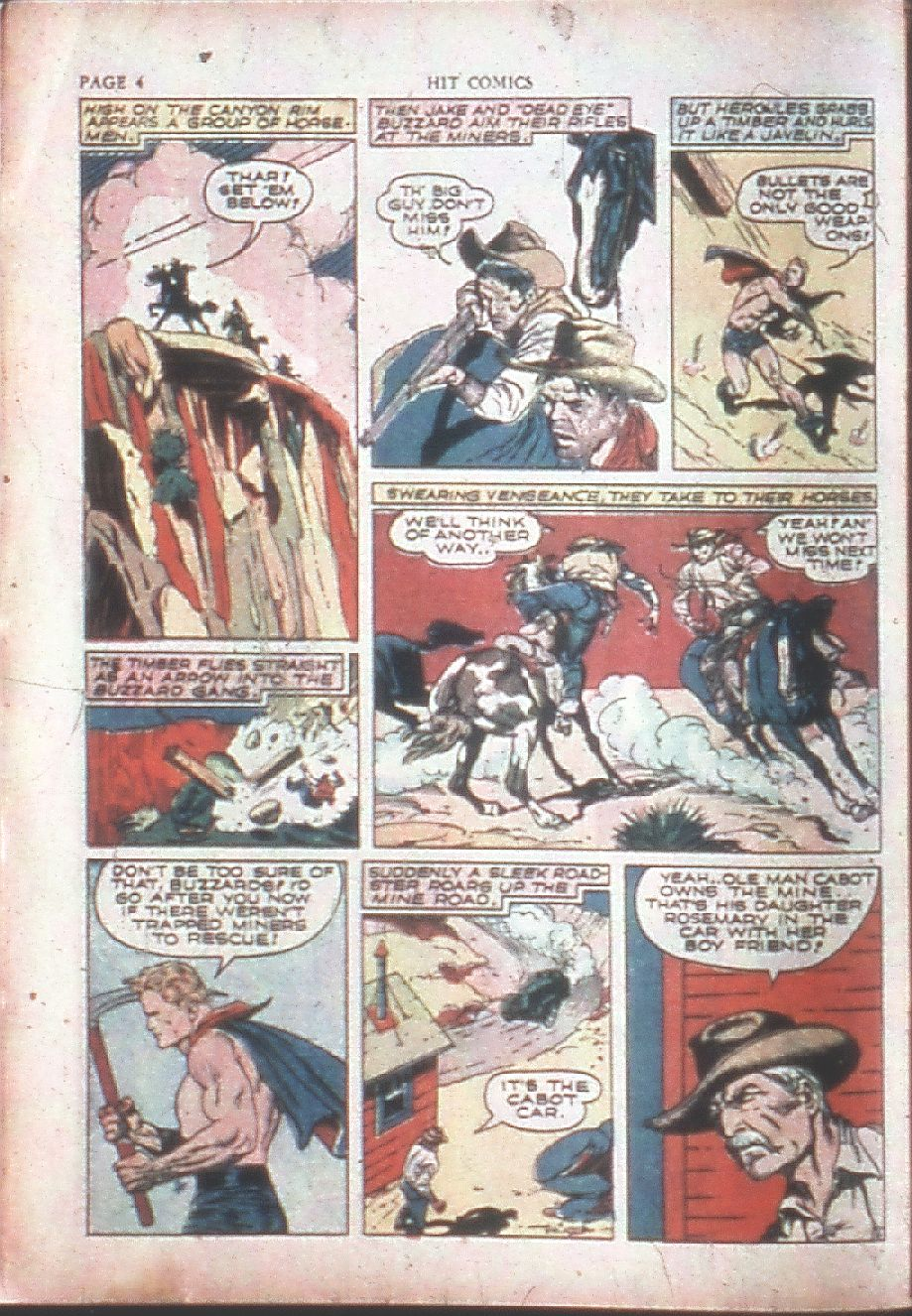 Read online Hit Comics comic -  Issue #15 - 6