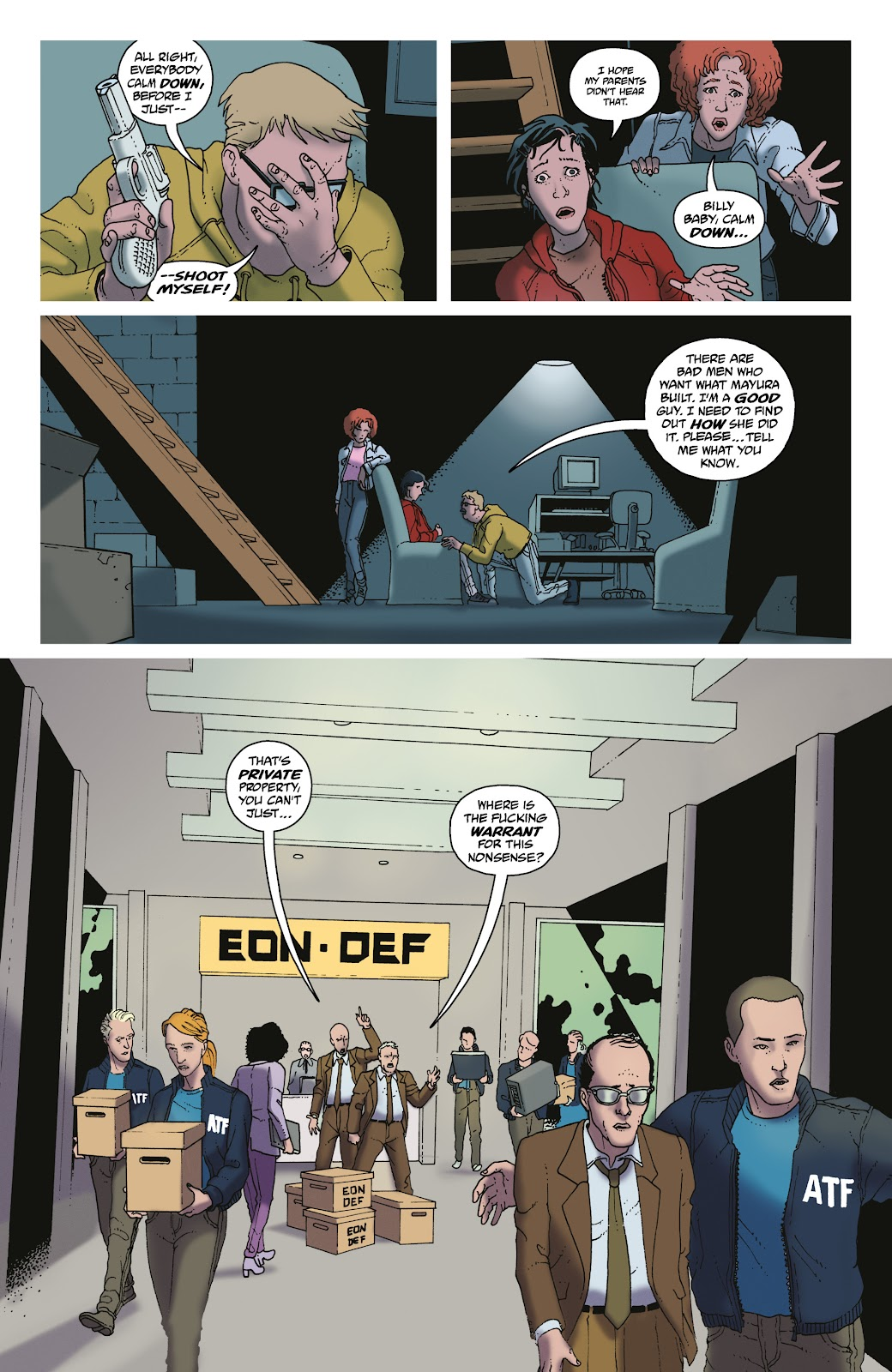Read online She Could Fly comic -  Issue # _TPB - 81