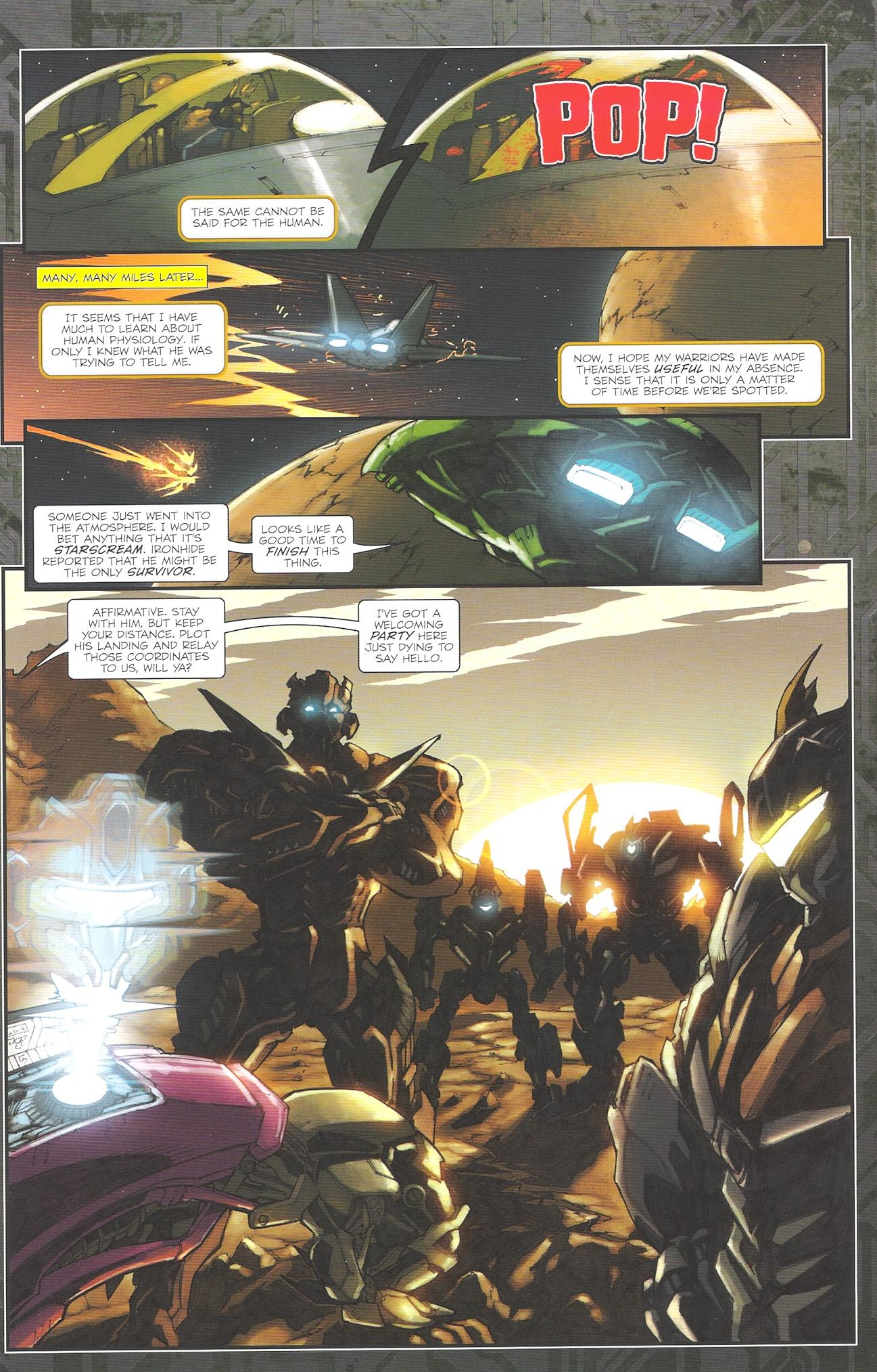Read online Transformers: The Reign of Starscream comic -  Issue #2 - 20