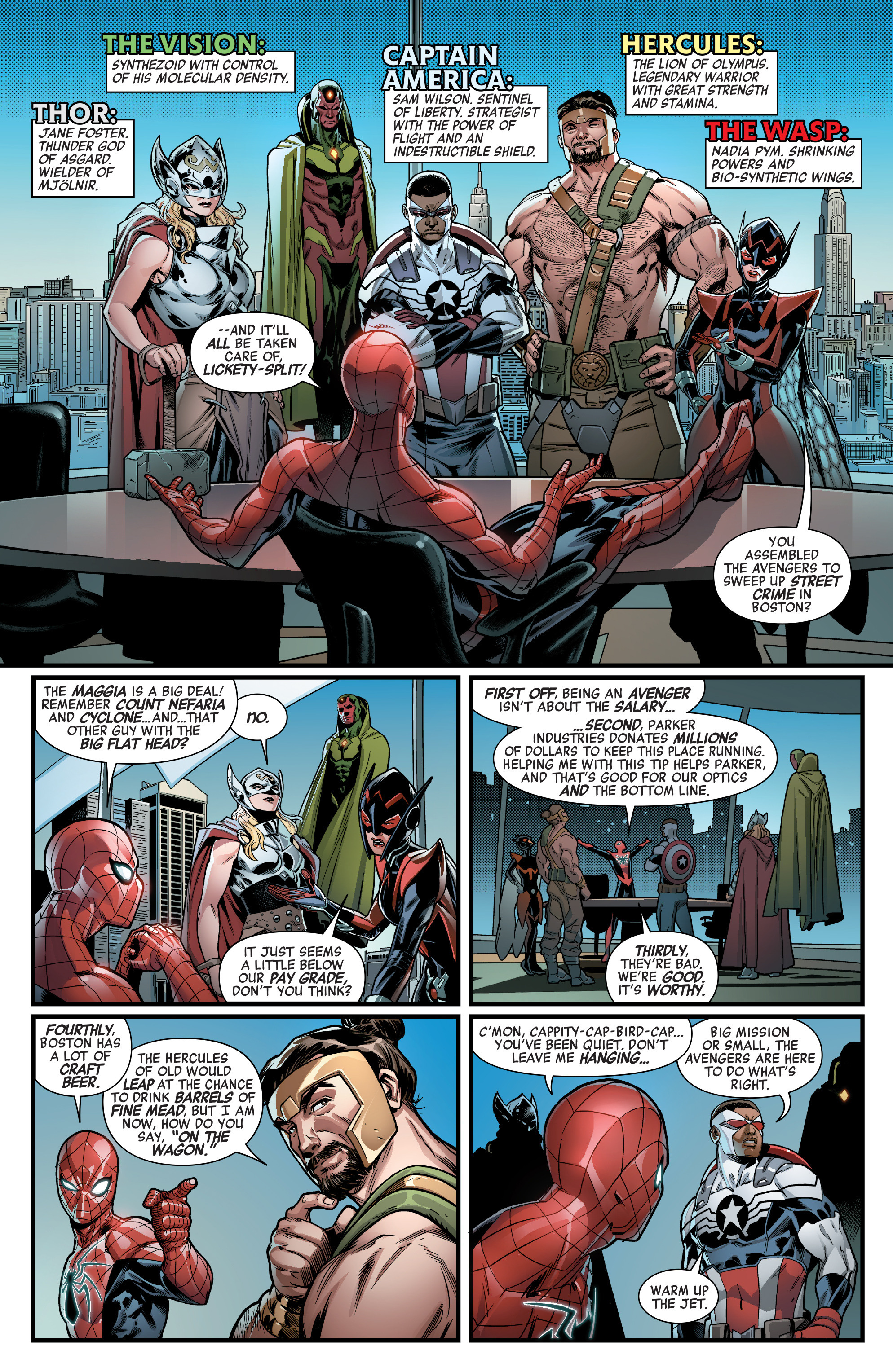 Read online Avengers (2016) comic -  Issue #1.MU - 6