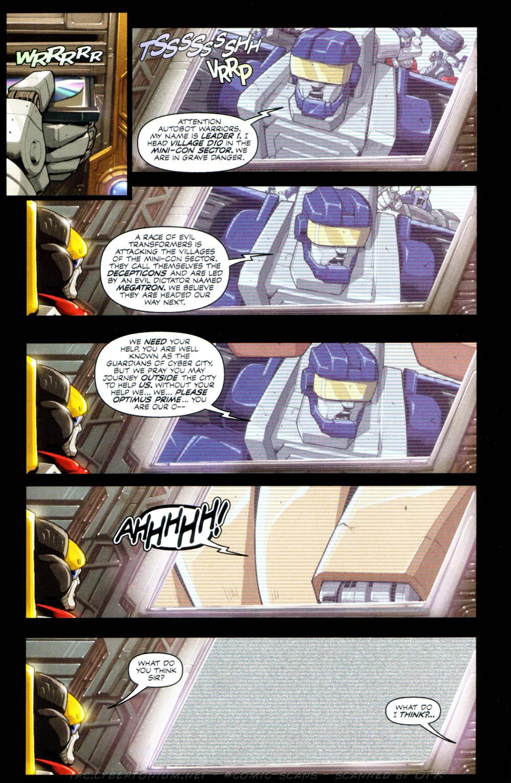 Read online Transformers Armada comic -  Issue #1 - 10