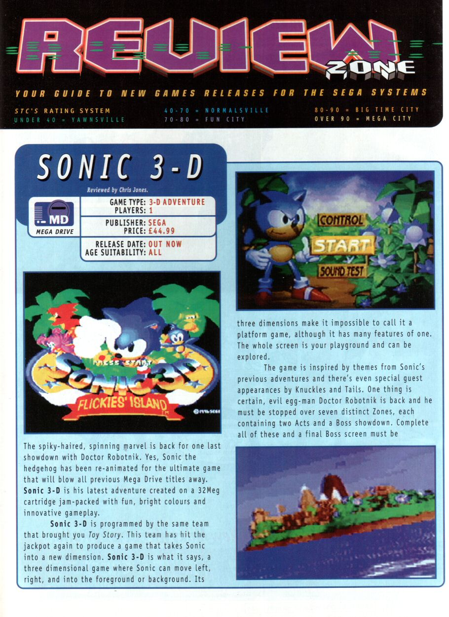 Comic Sonic the Comic issue 93