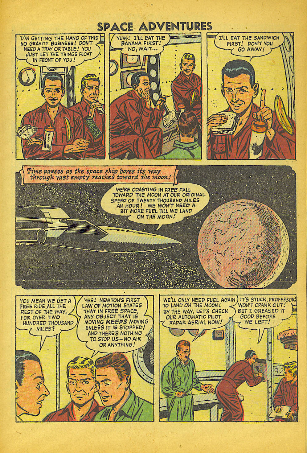 Space Adventures (1952) issue 20 - Page 19