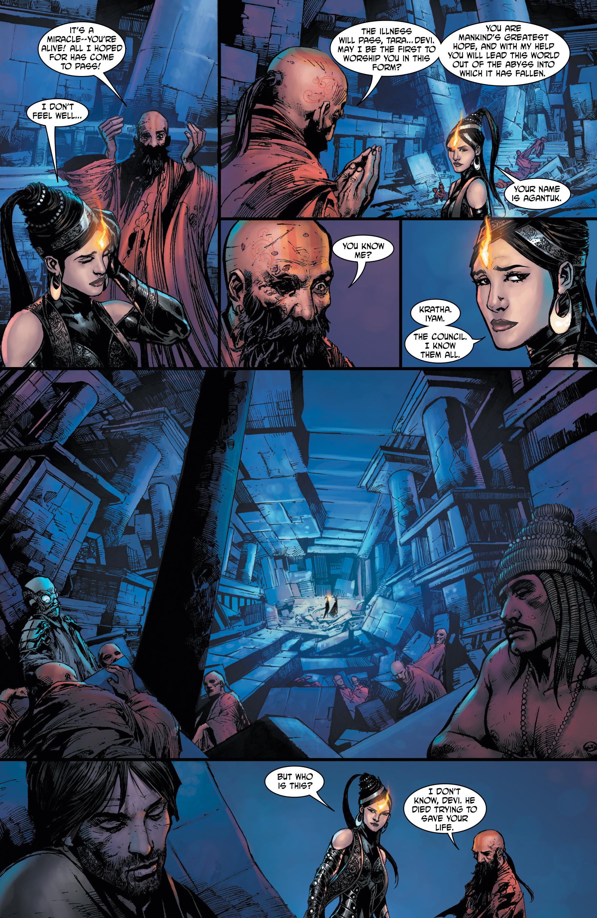 Read online Shekhar Kapur's Devi: Rebirth comic -  Issue #5 - 22