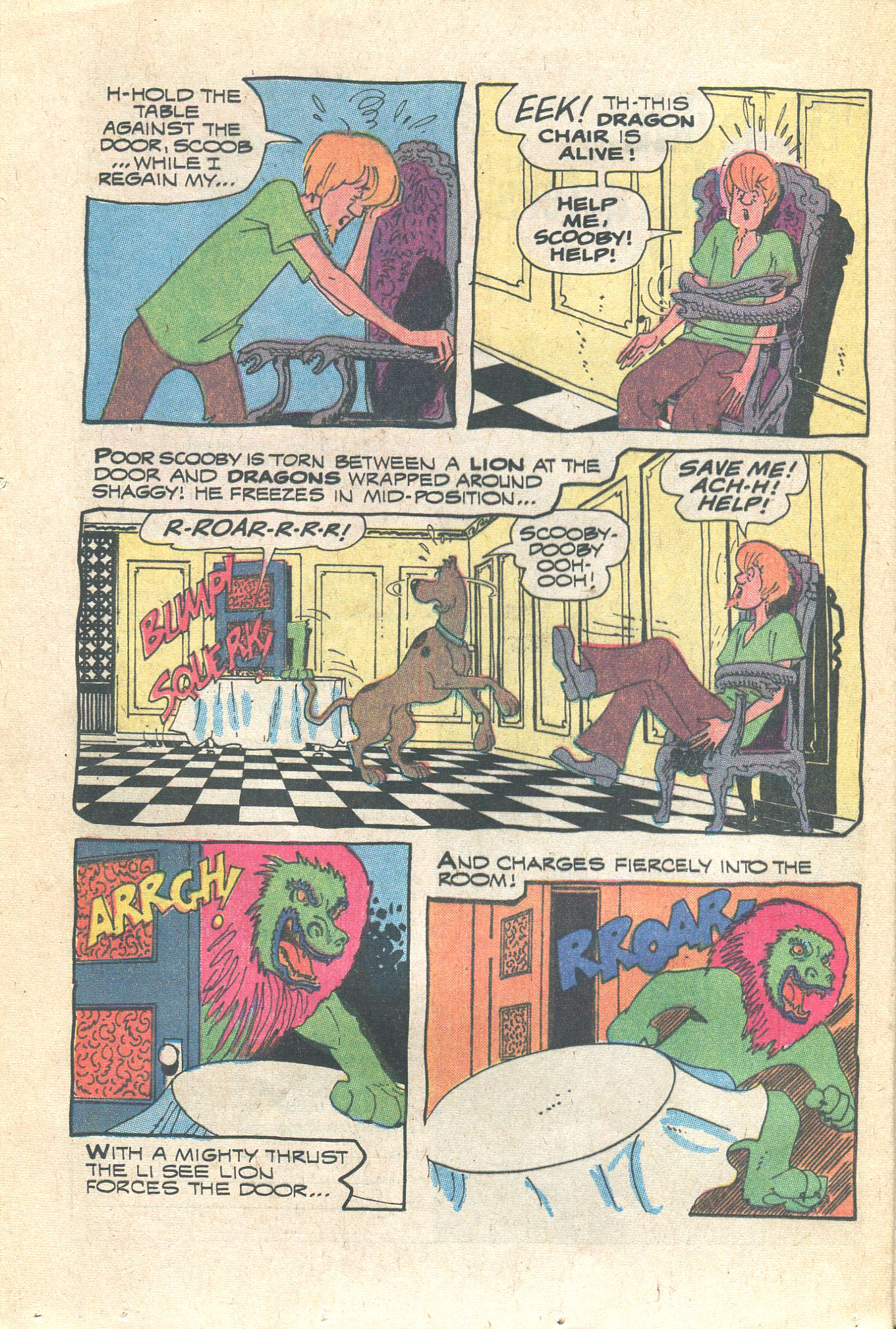 Read online Scooby-Doo... Where Are You! (1970) comic -  Issue #16 - 24