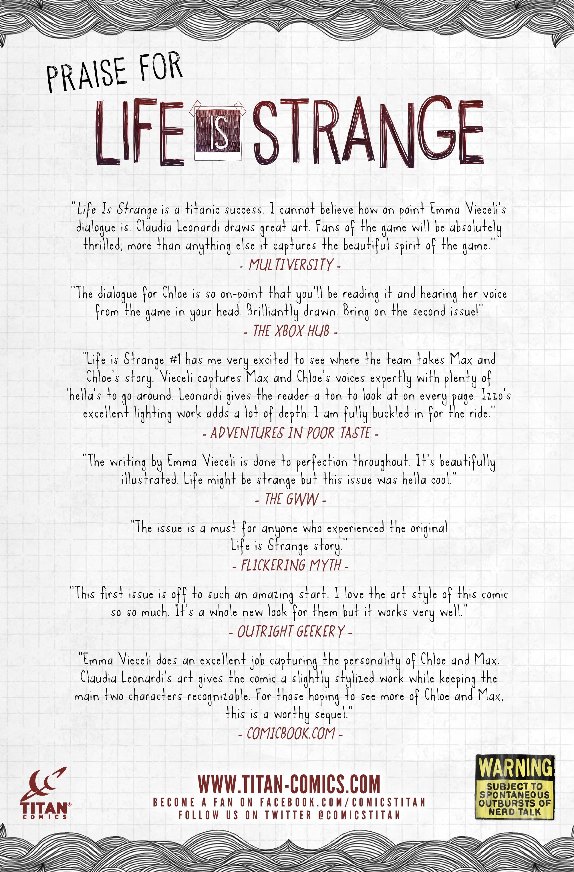 Life is Strange #3 #3 - English 32
