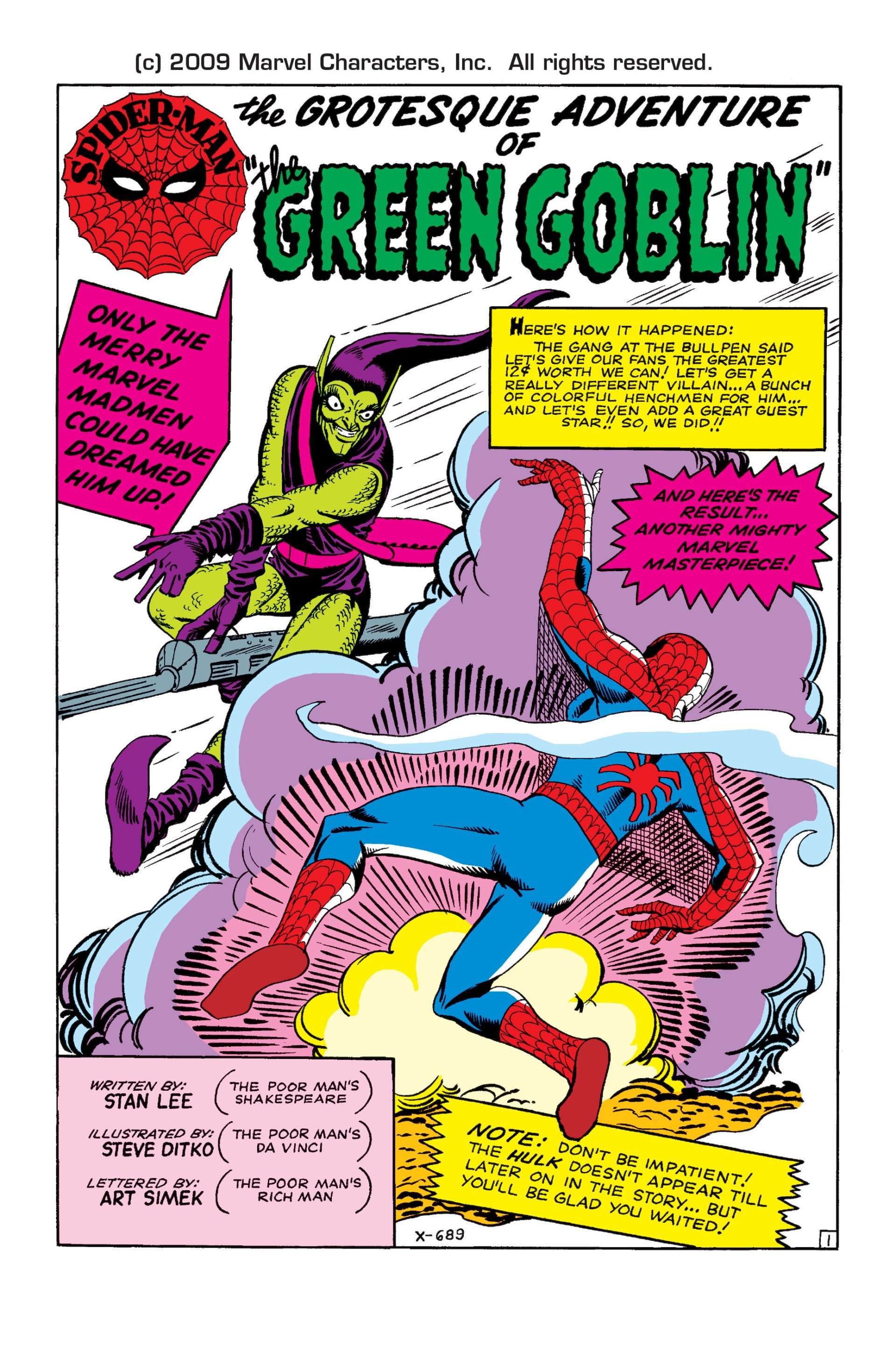 The Amazing Spider-Man (1963) 14 Page 1