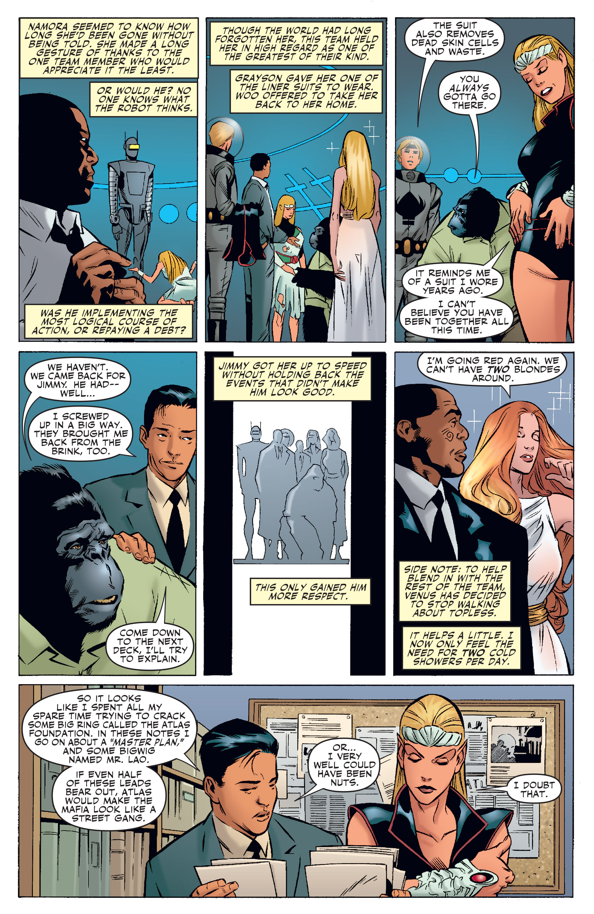 Read online Agents Of Atlas (2006) comic -  Issue #4 - 12