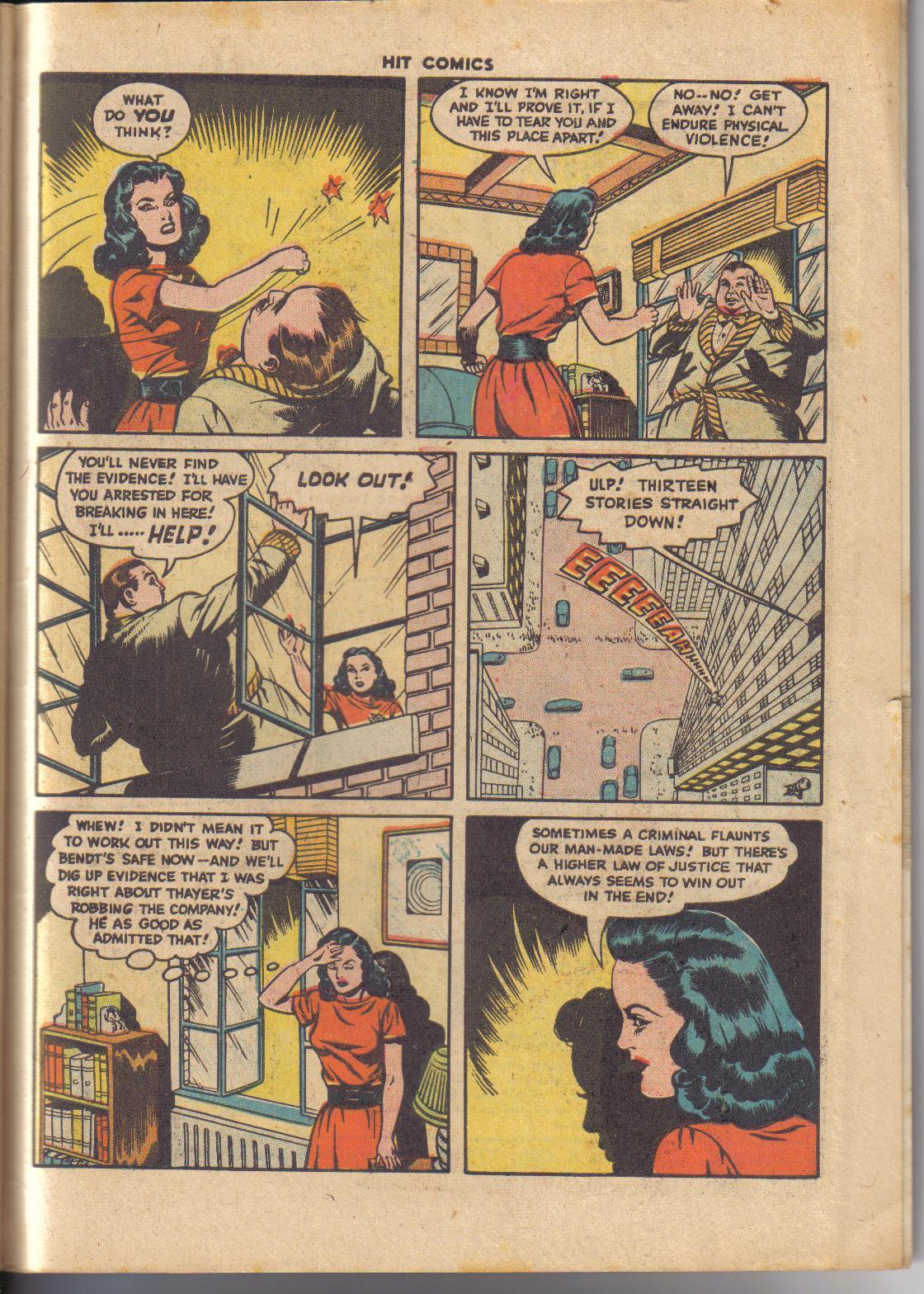 Read online Hit Comics comic -  Issue #45 - 30
