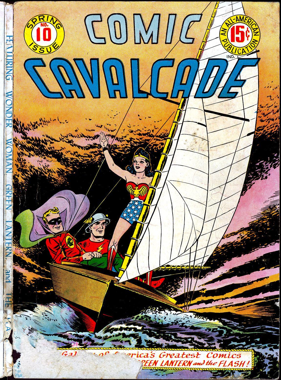Comic Cavalcade issue 10 - Page 1