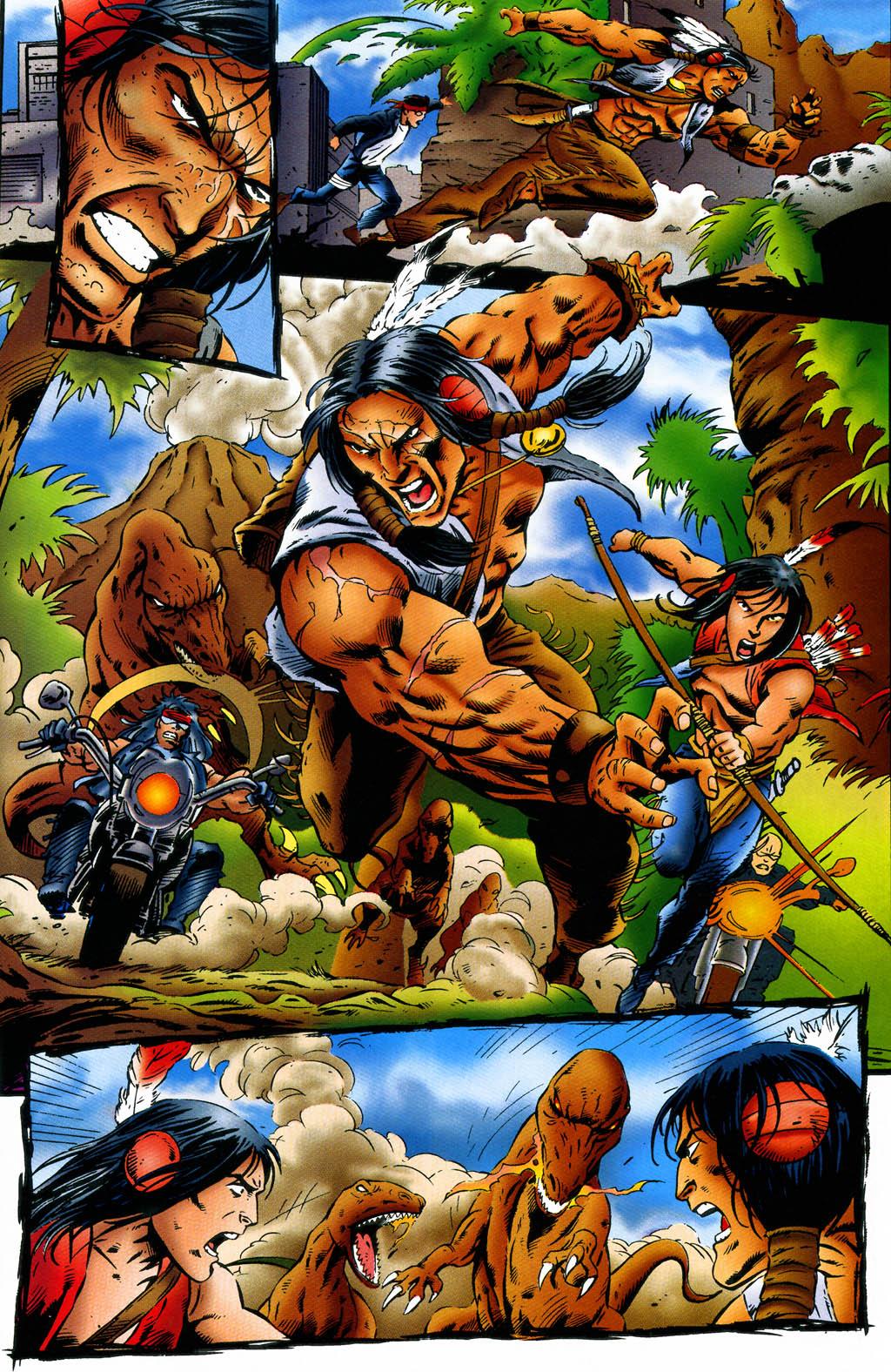 Read online Turok, Dinosaur Hunter (1993) comic -  Issue #43 - 4