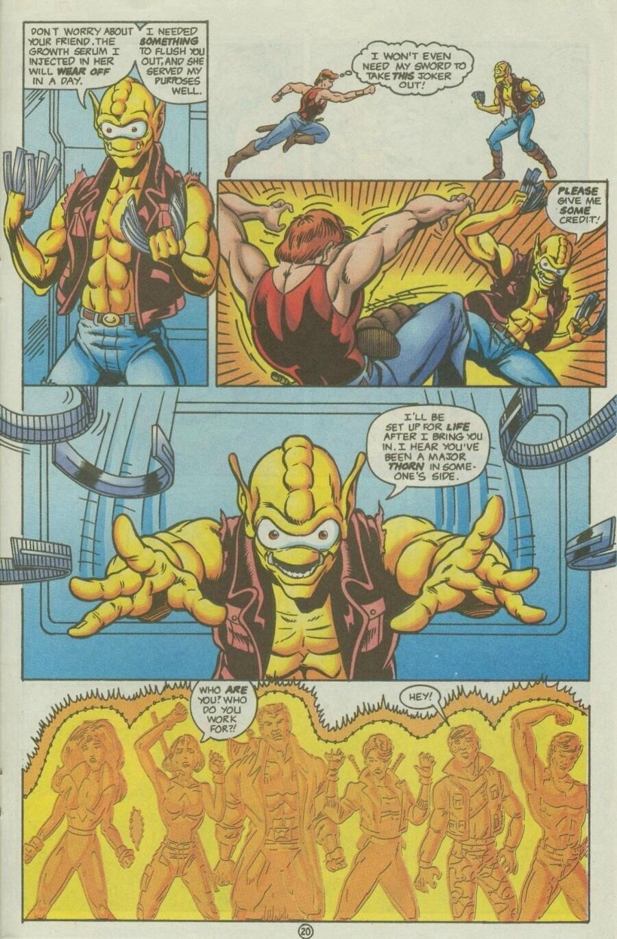 Read online Ex-Mutants comic -  Issue #10 - 24