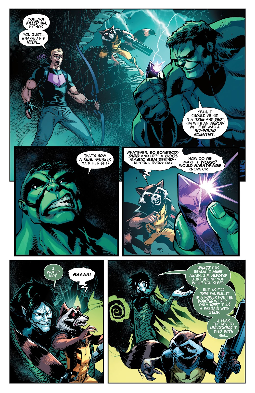 Read online Avengers No Road Home comic -  Issue #6 - 17